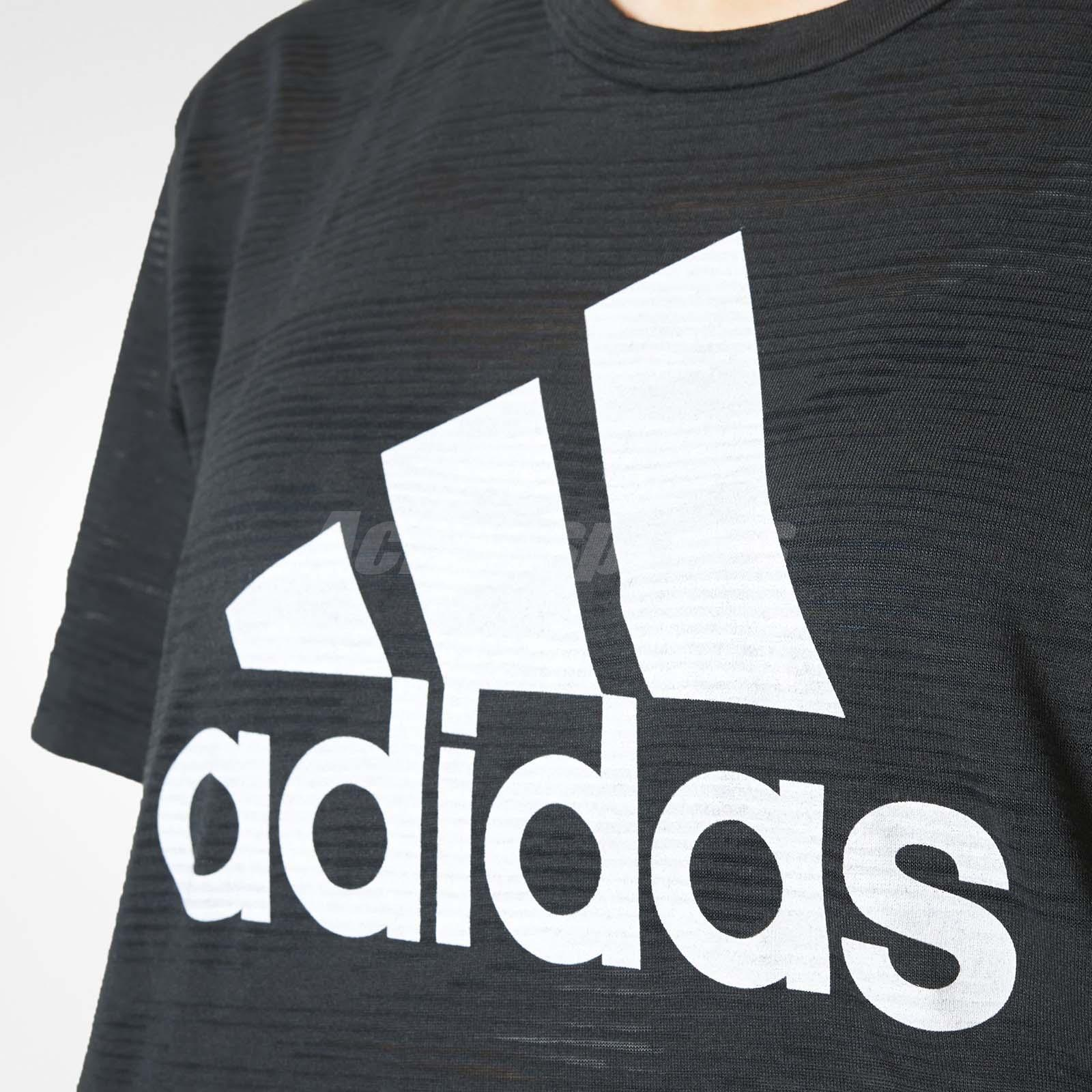 b2428e8deab adidas Women Aeroknit Crop Top Sports Running Training Tee T-Shirt ...