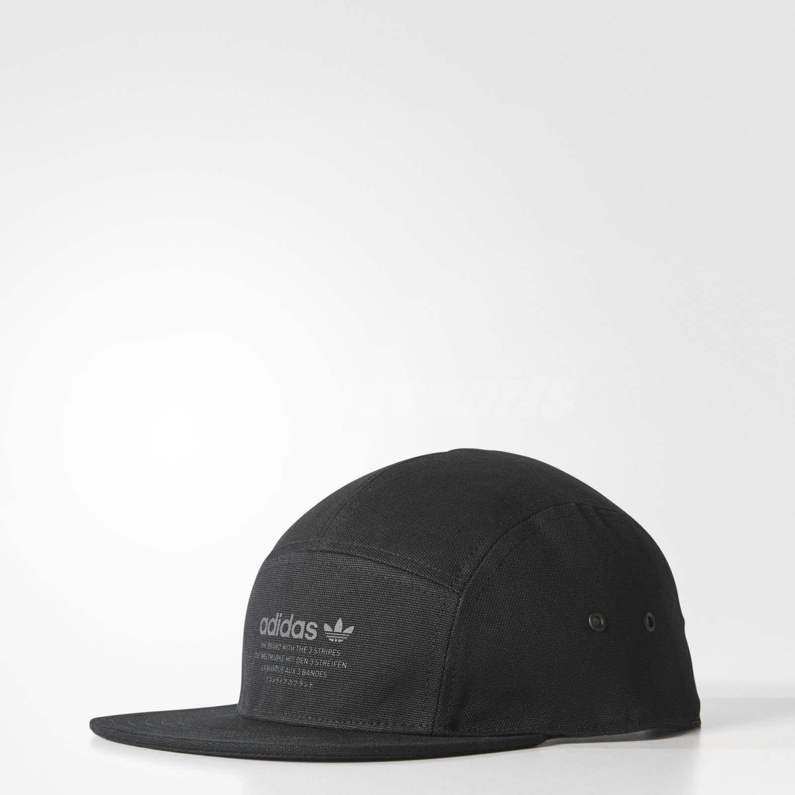 Details about adidas Unisex Originals NMD Cap Baseball Sports Hat Trefoil Running Black BR4685