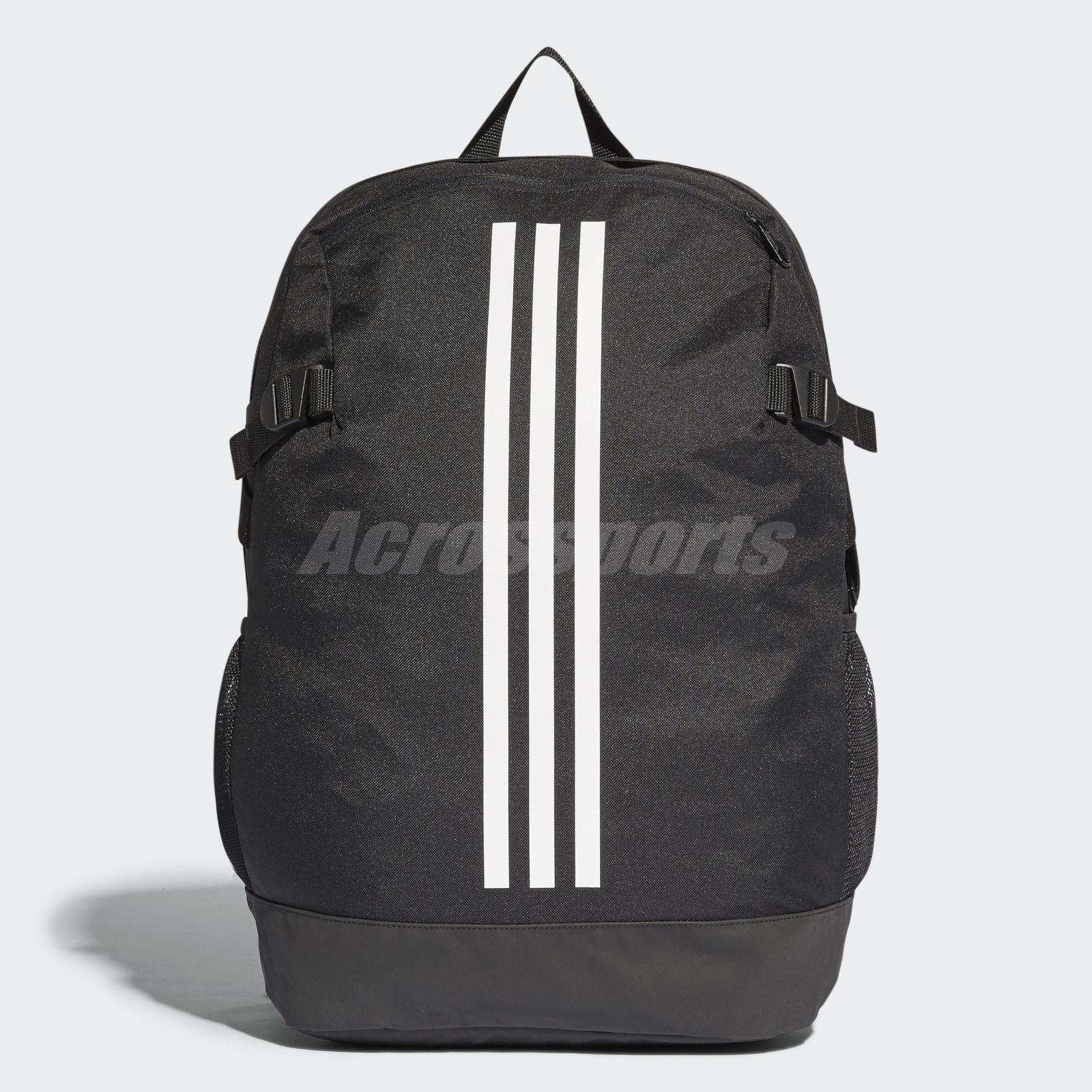 Details about adidas 3-Stripes Power Black White Large Backpack BP Big Bag  BR5863 08ebd6e248