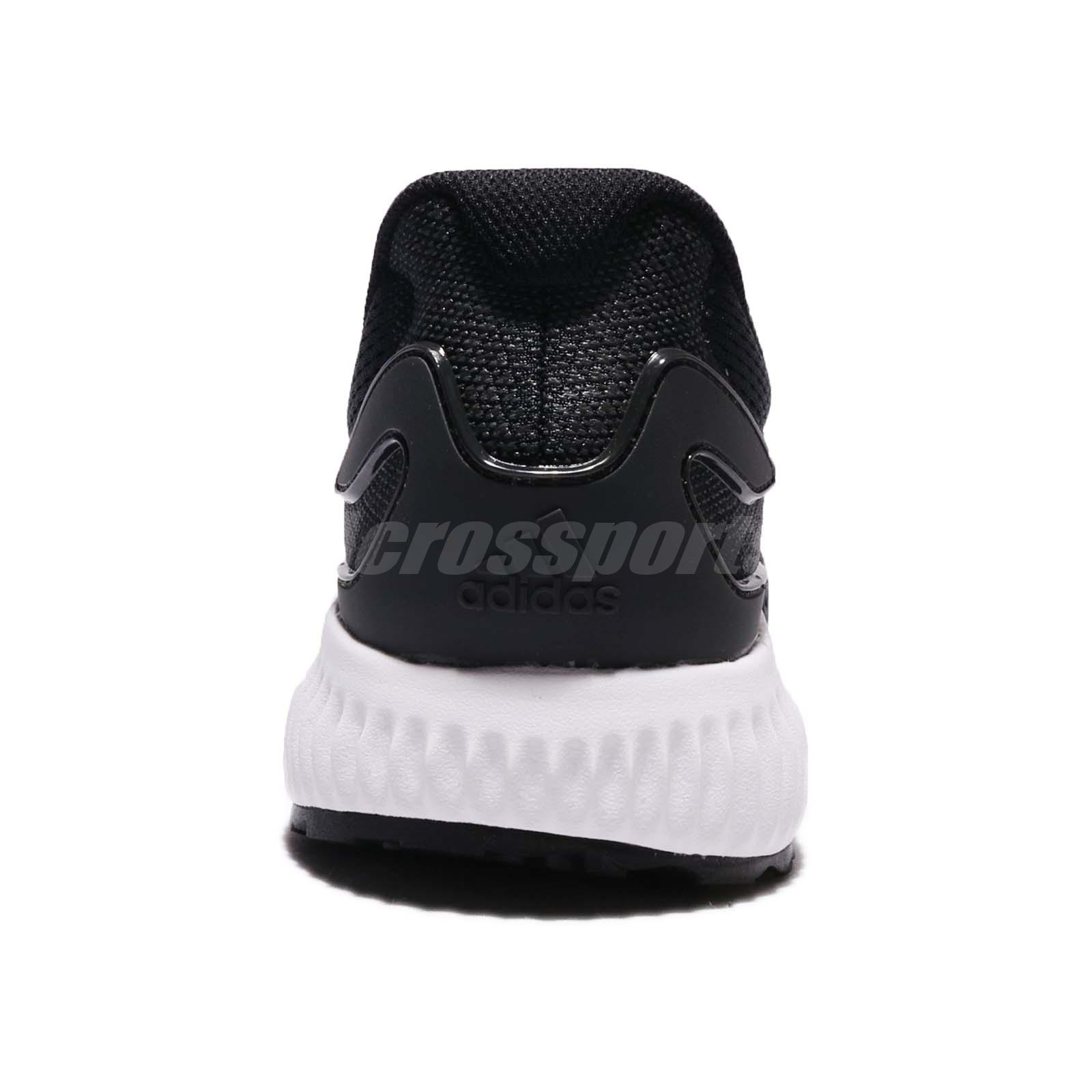 1979a35c5cd adidas Aerobounce M Black White Men Running Shoes Sneakers Trainers ...