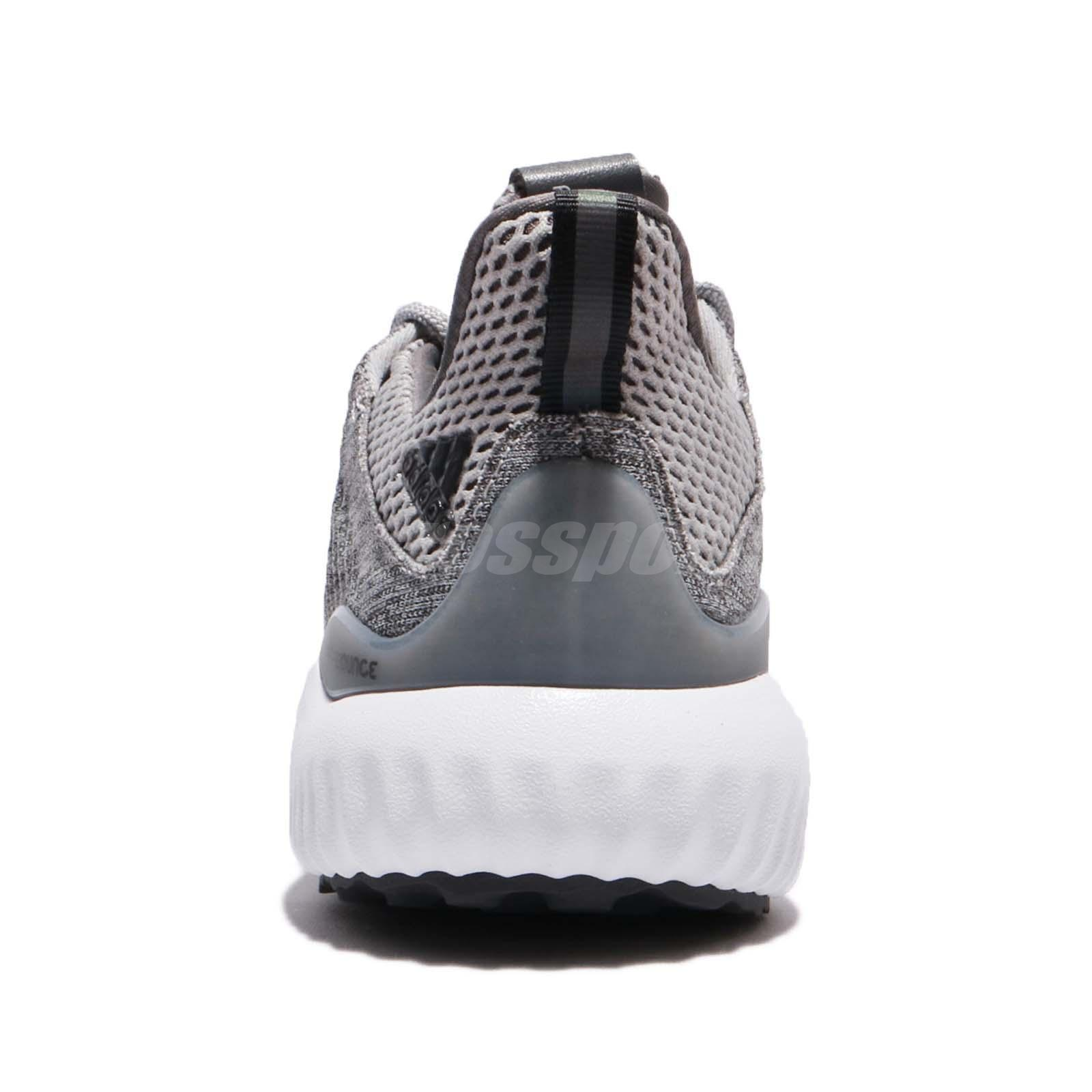 8ff593c807249 adidas Alphabounce EM W Engineered Mesh Grey White Women Running ...