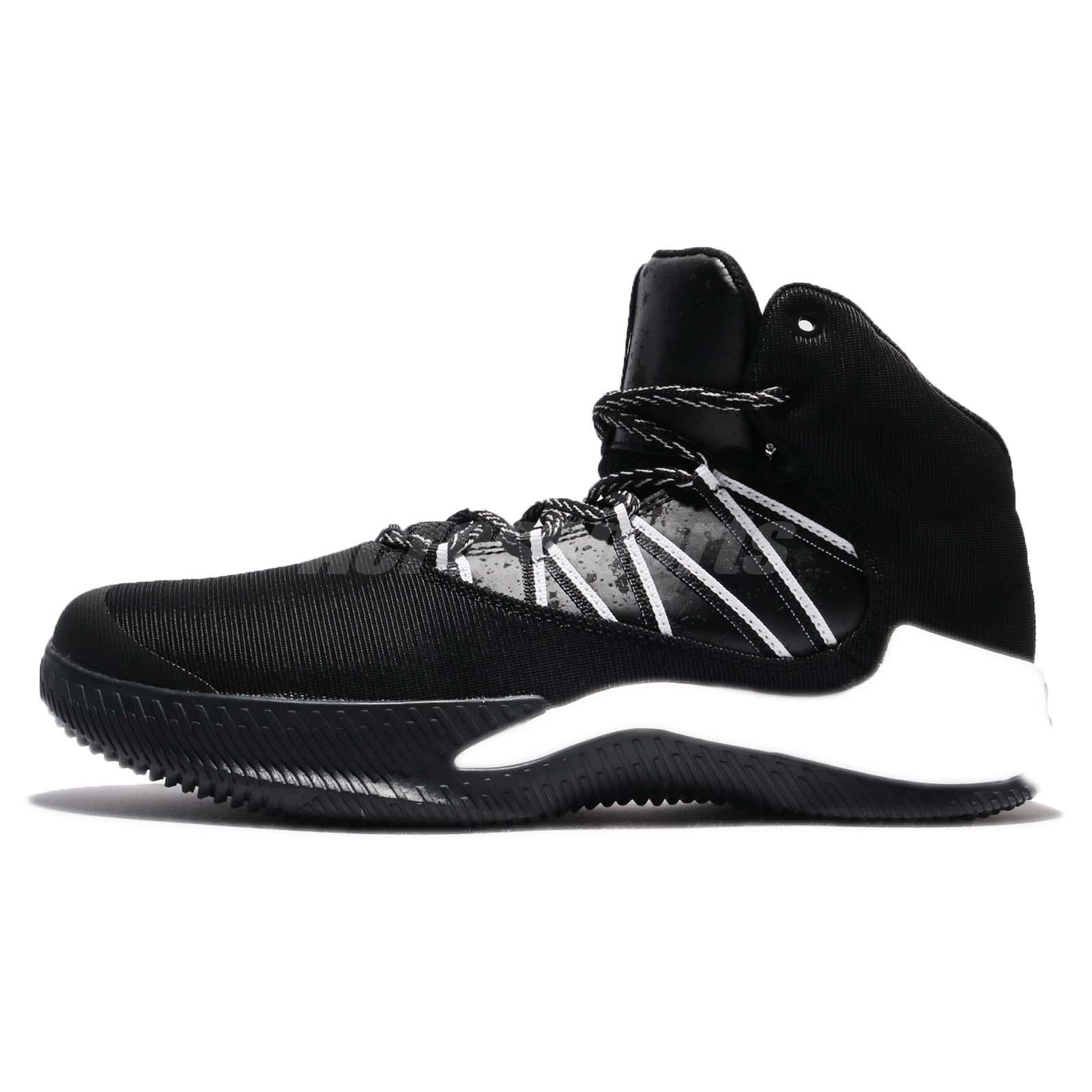 6c29a40ca32 adidas Infiltrate Black White Men Basketball Shoes Trainers Sneakers BW1359