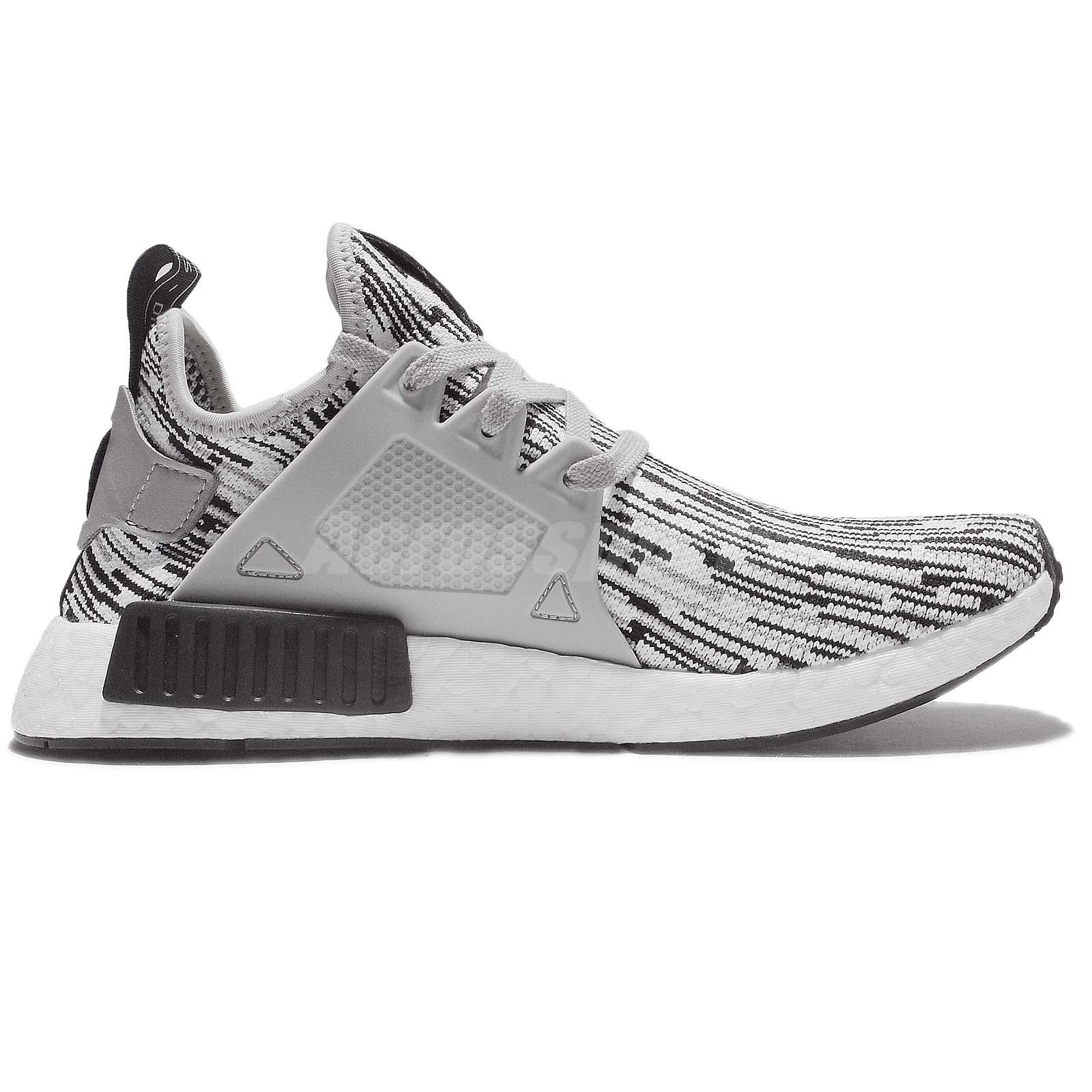 Adidas NMD XR1 PK Womens Primeknit Glitch Navy BB3685 US