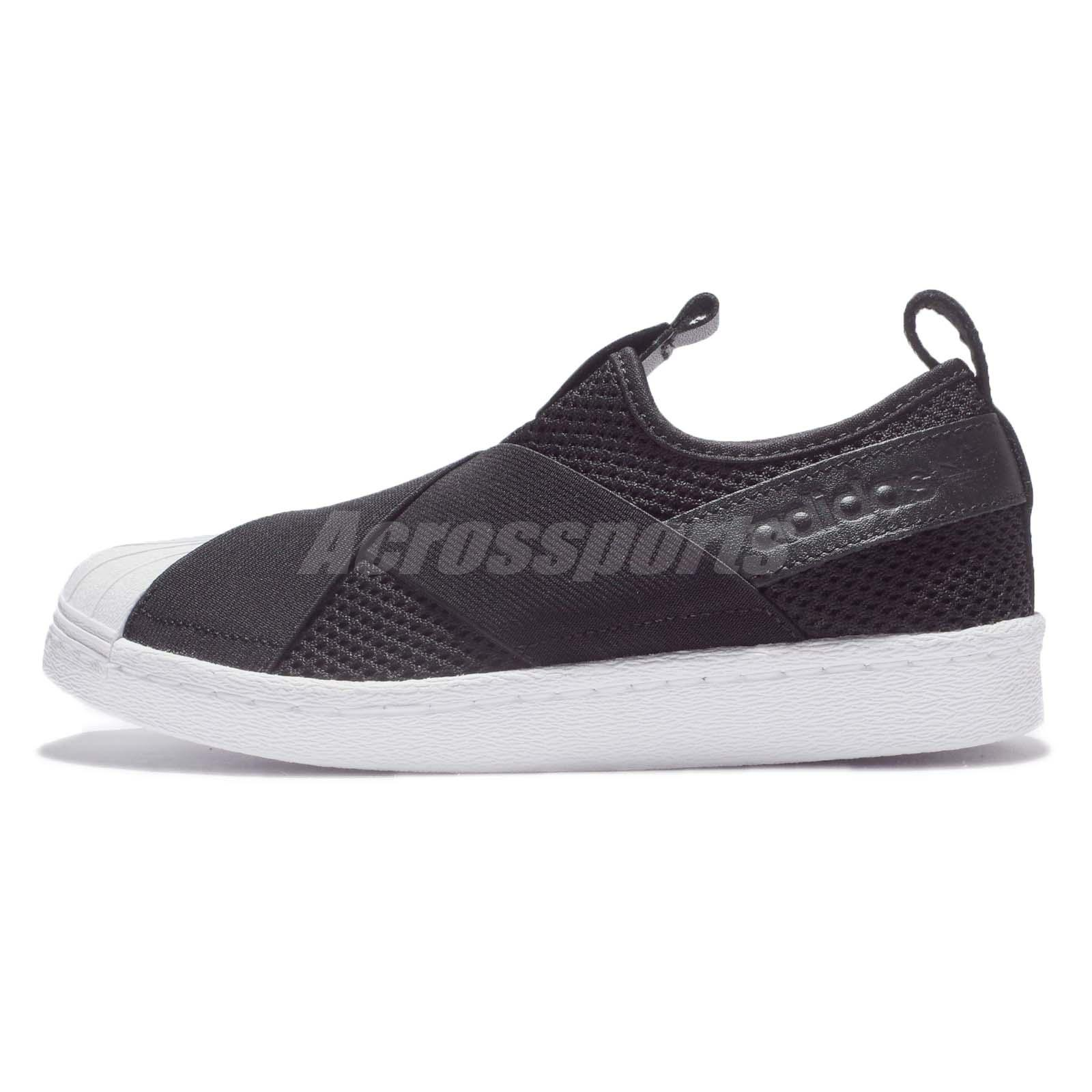 Women S Adidas Originals Superstar Slip On Casual Shoes Black