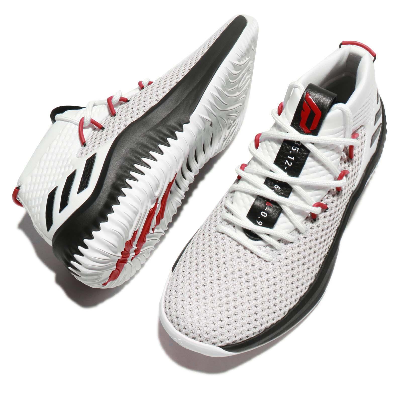 wholesale dealer 60e62 c08bf adidas Dame 4 Damian Lillard Rip City Home Trail Blazers Whi
