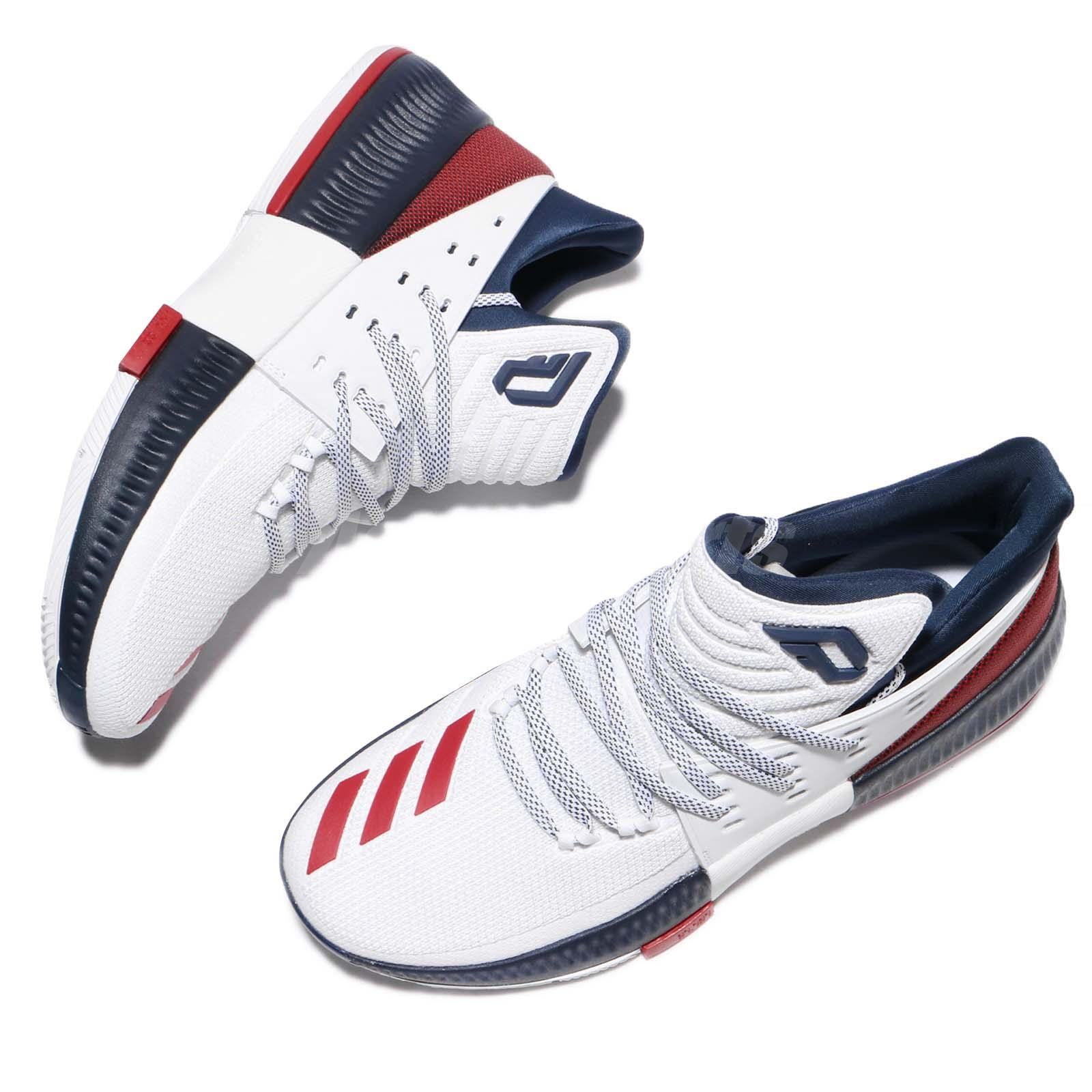 50 off adidas dame 3 damian lillard usa 4th of july navy. Black Bedroom Furniture Sets. Home Design Ideas