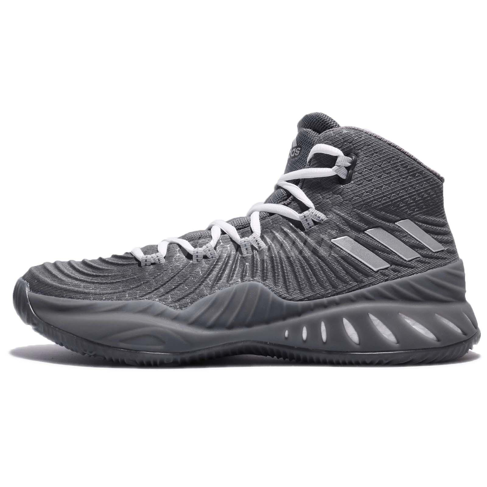 adidas Crazy Explosive 2017 BOOST Grey Men Basketball Shoes Sneakers BY3767