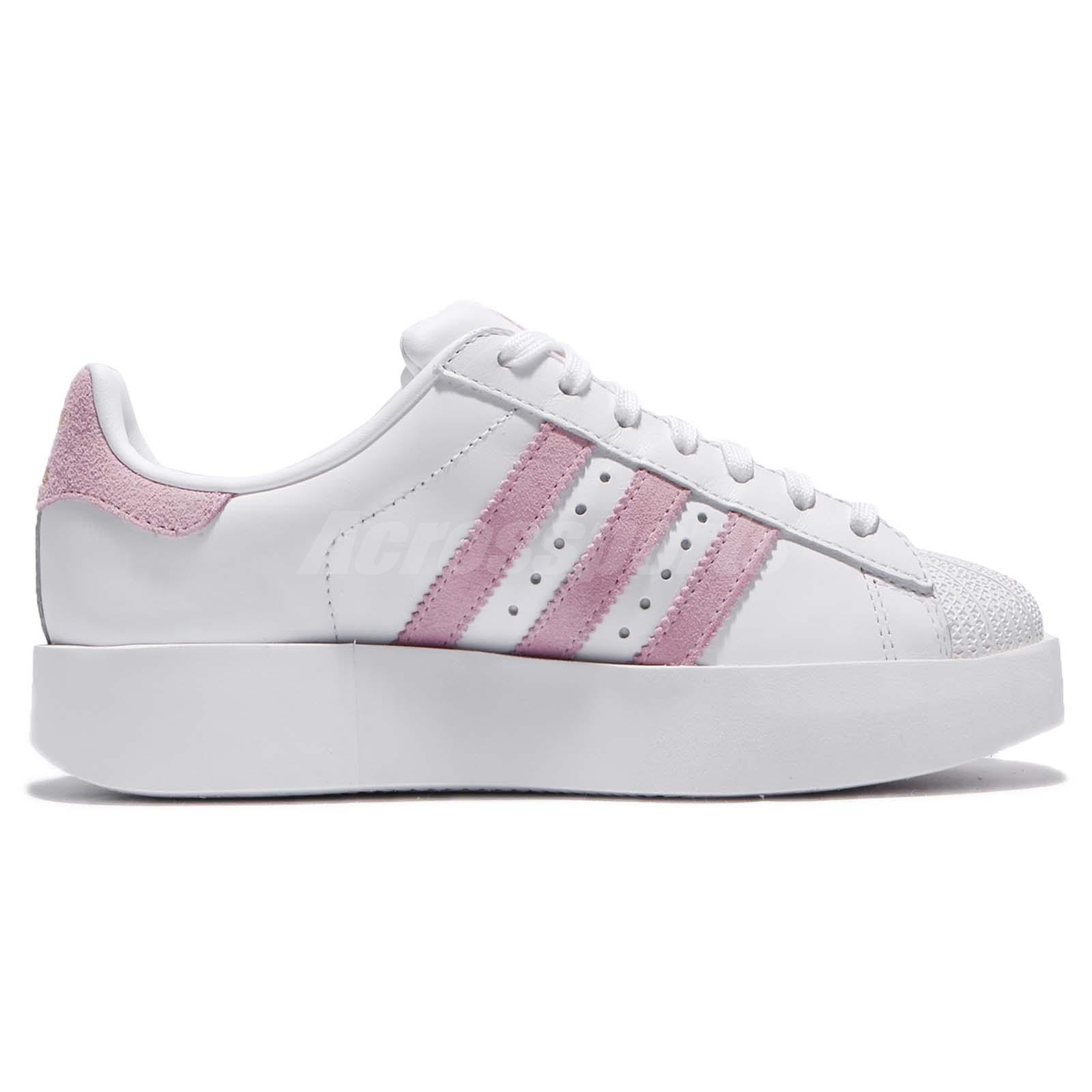 2a4cc3c8dac9 adidas Originals Superstar Bold W Platform White Pink Women Classic ...