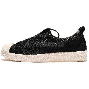 new concept 0119b 9ab0a adidas Originals Superstar Slip On W Strap Womens  Men Shoes