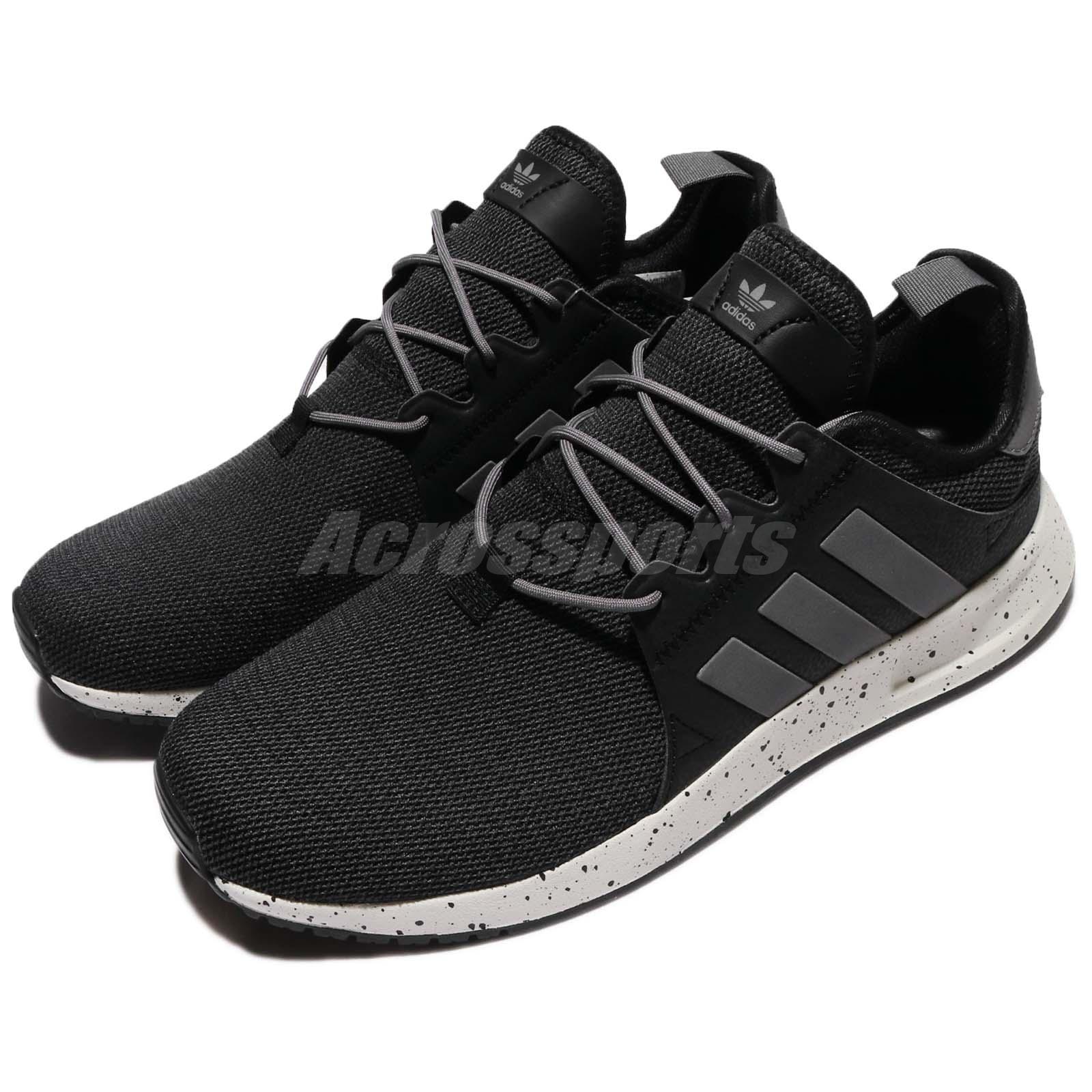 a9b3f70af81 Detalles acerca de Adidas Originals   PLR Negro Gris Hombres X Mujeres  Zapatos Tenis Para Correr Entrenador BY9254- mostrar título original