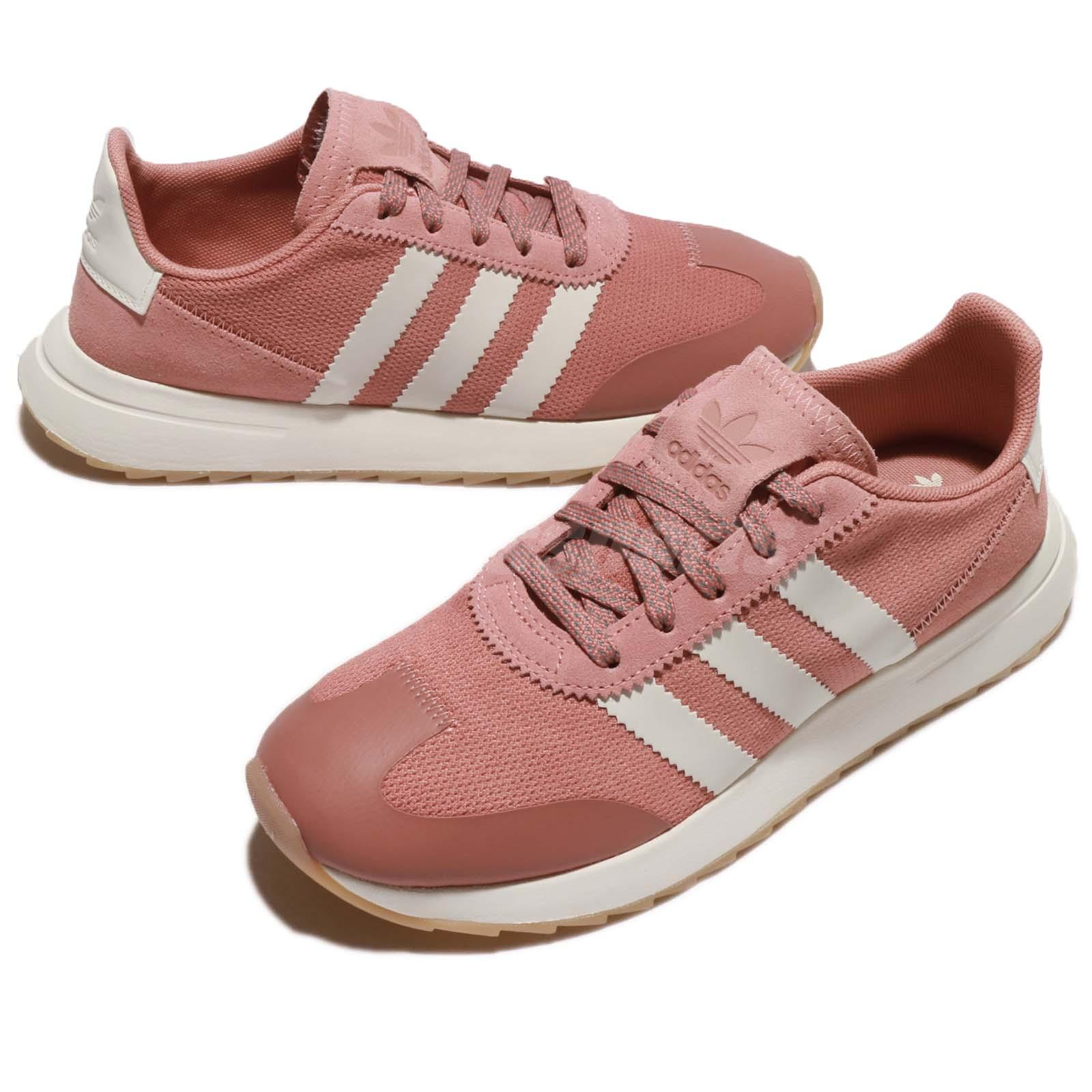 a73c1a5d773078 Details about adidas Originals FLB W Flashback Raw Pink Off White Gum Women  Sneakers BY9301