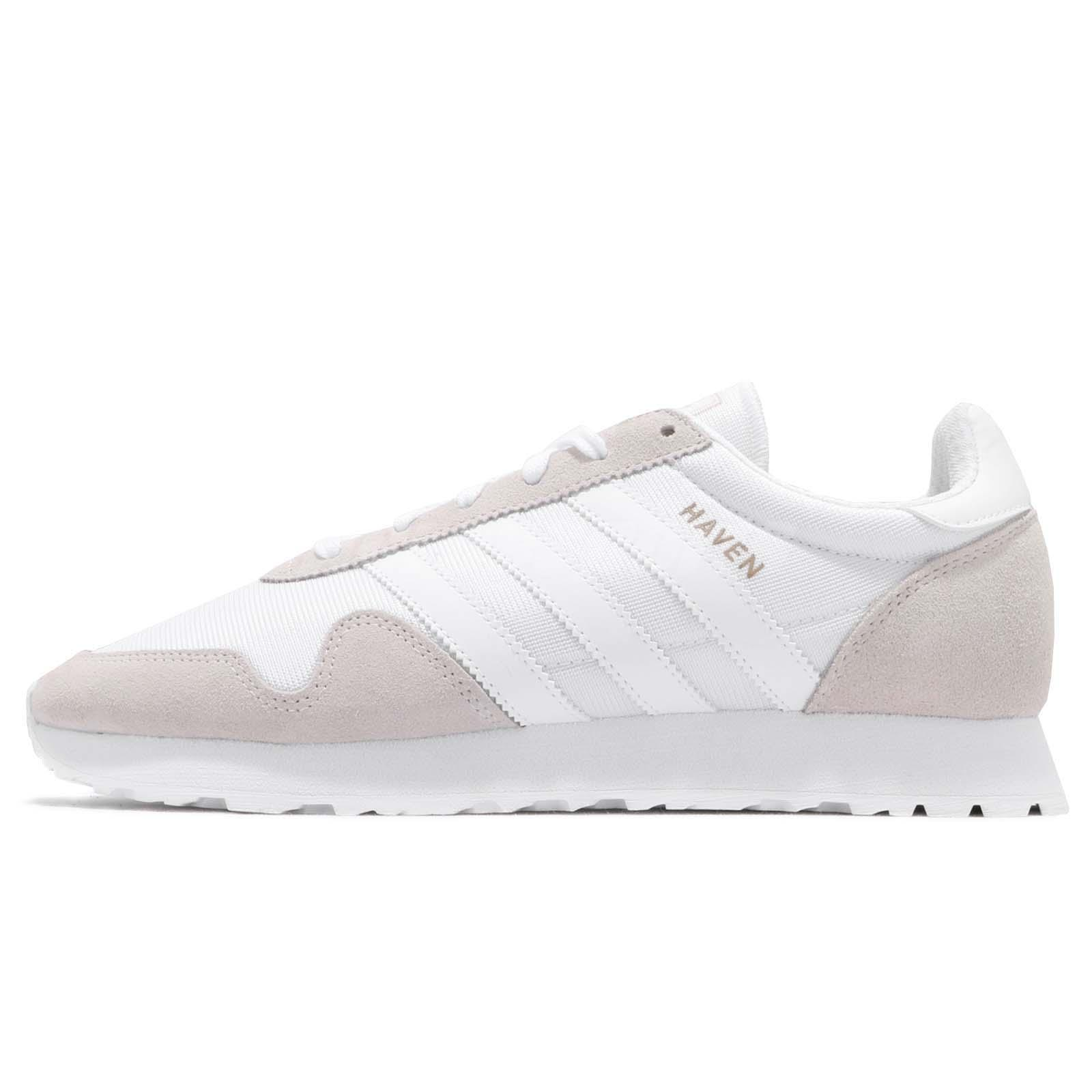 0a64ba50072 adidas Originals Haven Vintage White Grey Men Running Shoes Sneakers BY9718