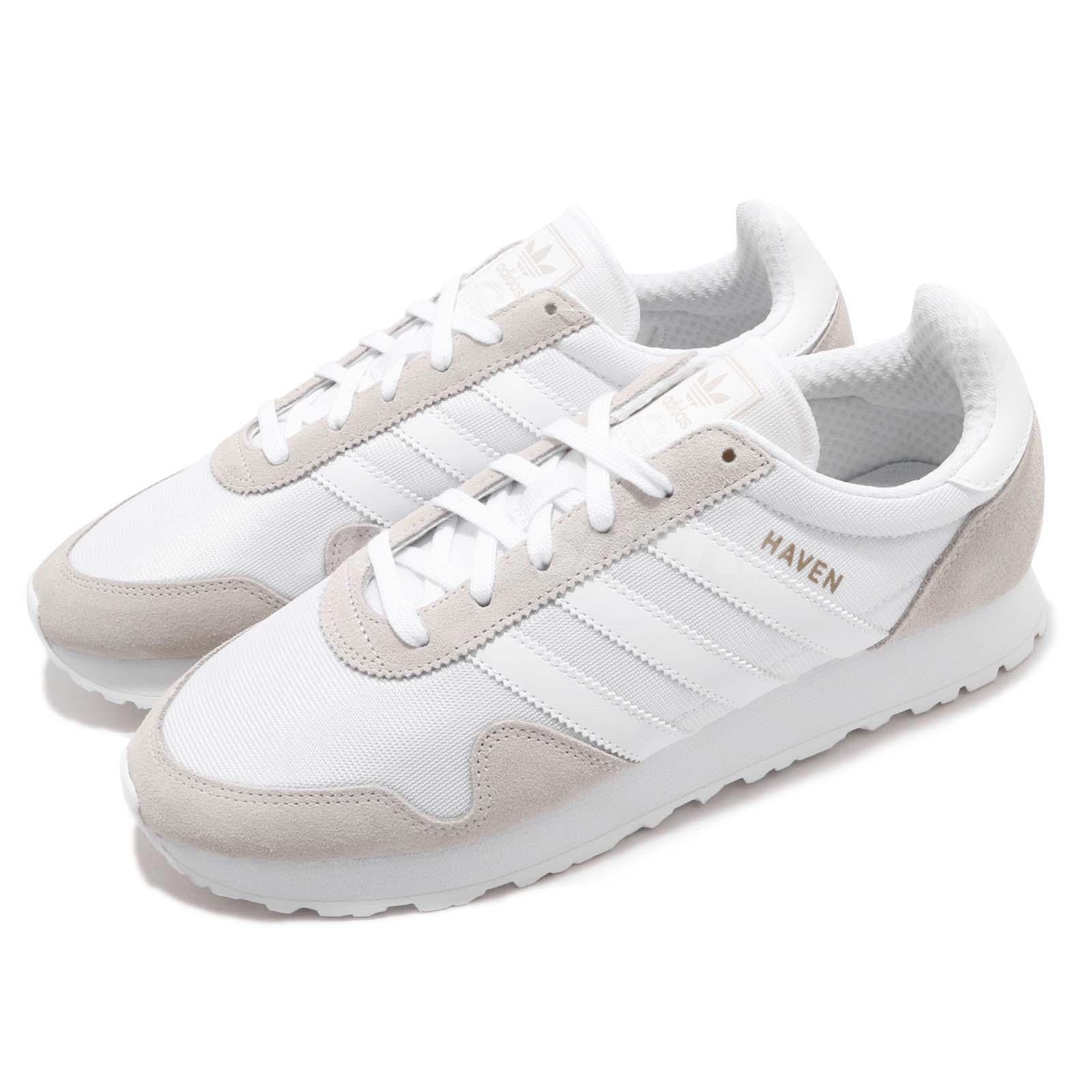 0fc64dbce81 adidas Originals Haven Vintage White Grey Men Running Shoes Sneakers ...
