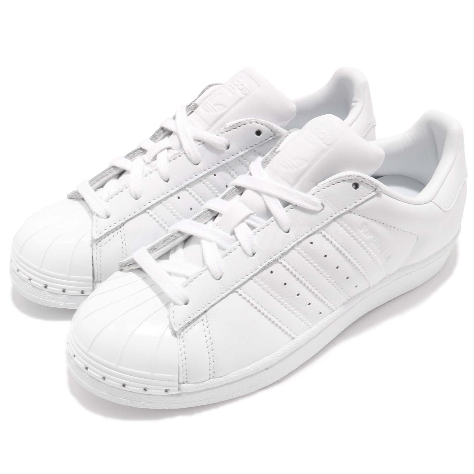 size 40 1999b 8c852 Details about adidas Originals Superstar Metal Toe White Women Casual Classic  Shoes BY9751