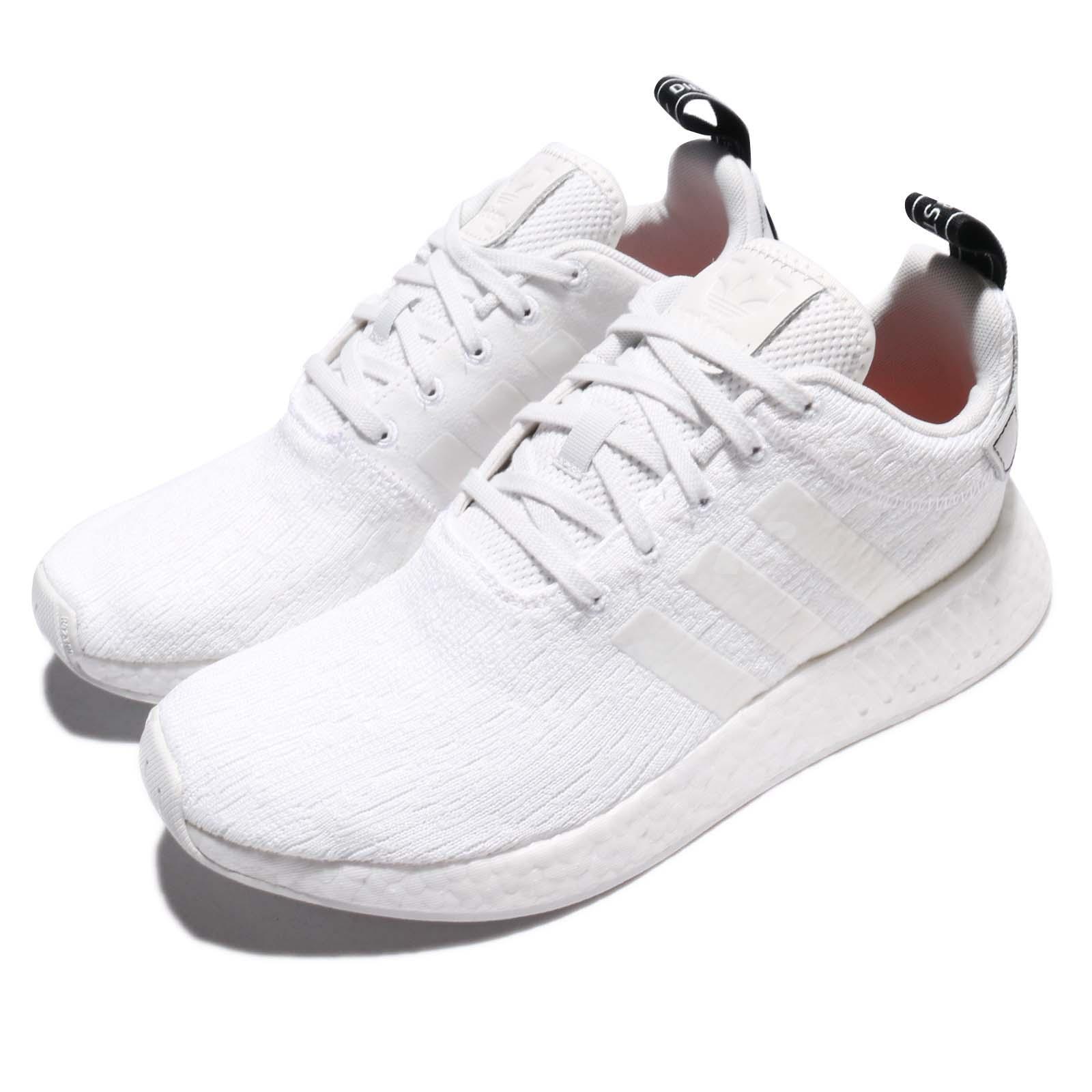 reputable site f3c70 e66b9 2018 Nuovi Adidas Originals NMD R2 REGNO UNITO tutte le taglie 6 12 Crystal  White BY9914