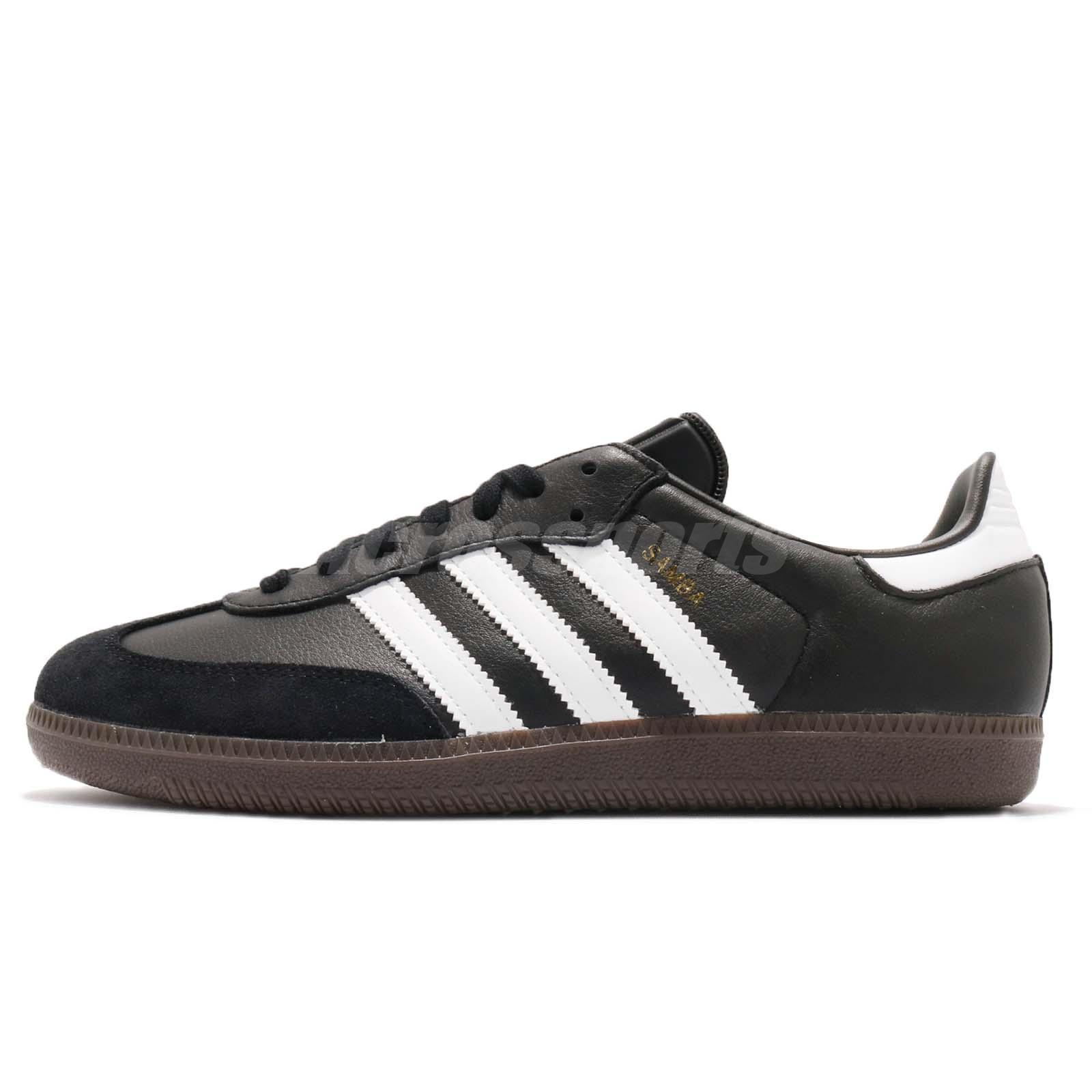 4accf5e939 adidas Originals Samba OG Classic Black White Gum Men Casual Shoe Sneaker  BZ0058