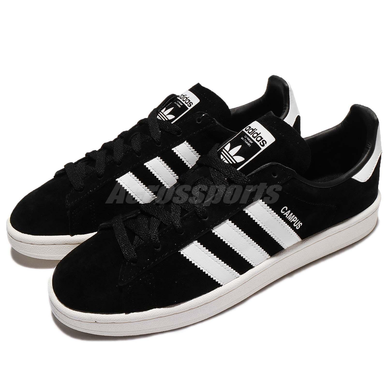 Detalles acerca de Adidas Originals Campus Negro Blanco Zapatos Tenis Para Hombre de la vieja escuela BZ0084 mostrar título original