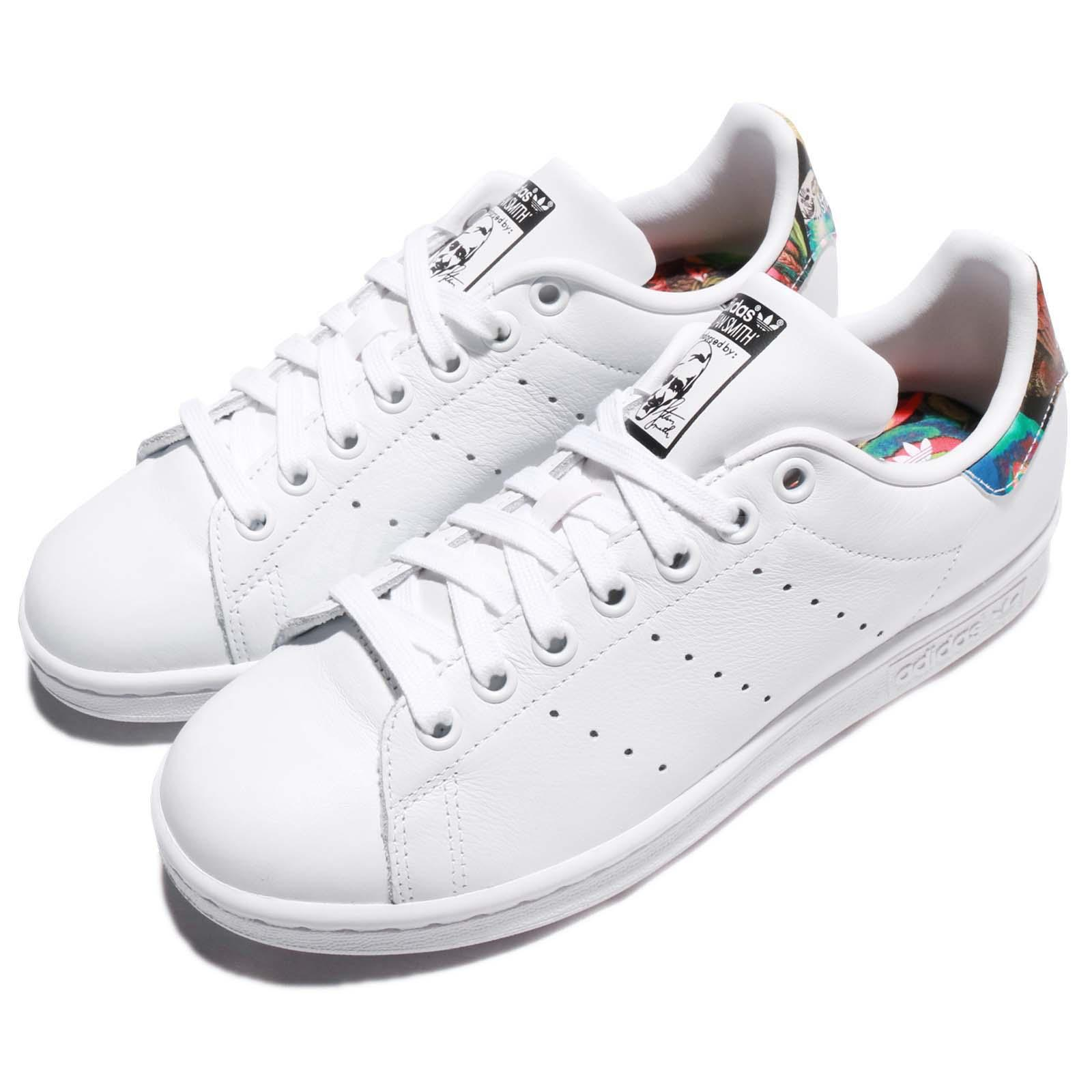 Détails sur adidas Originals Stan Smith W FARM Company White Multi-Color  Women Shoes BZ0411