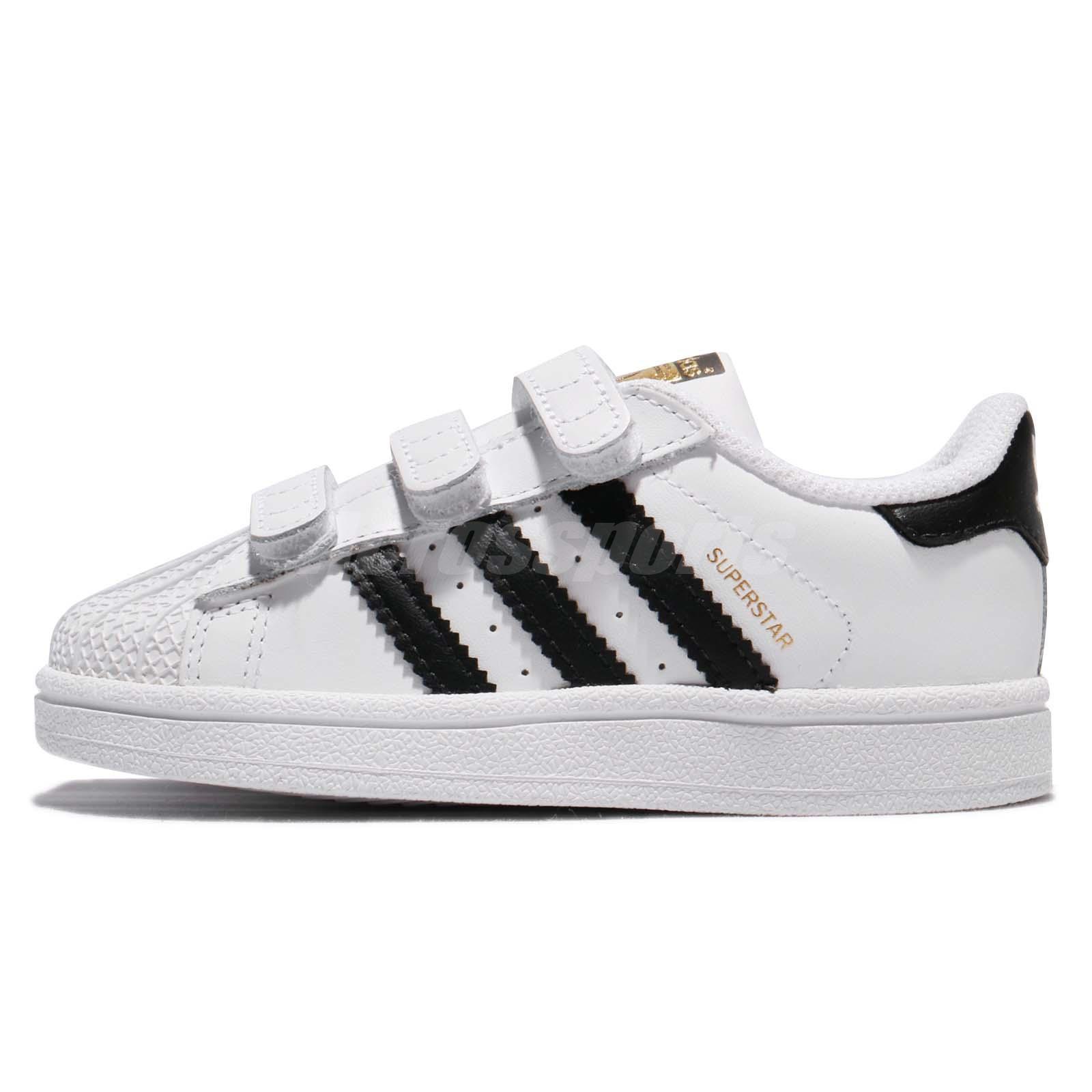 Zapatillas para os ni ñ peque ñ os - adidas superstar di originali in bianco