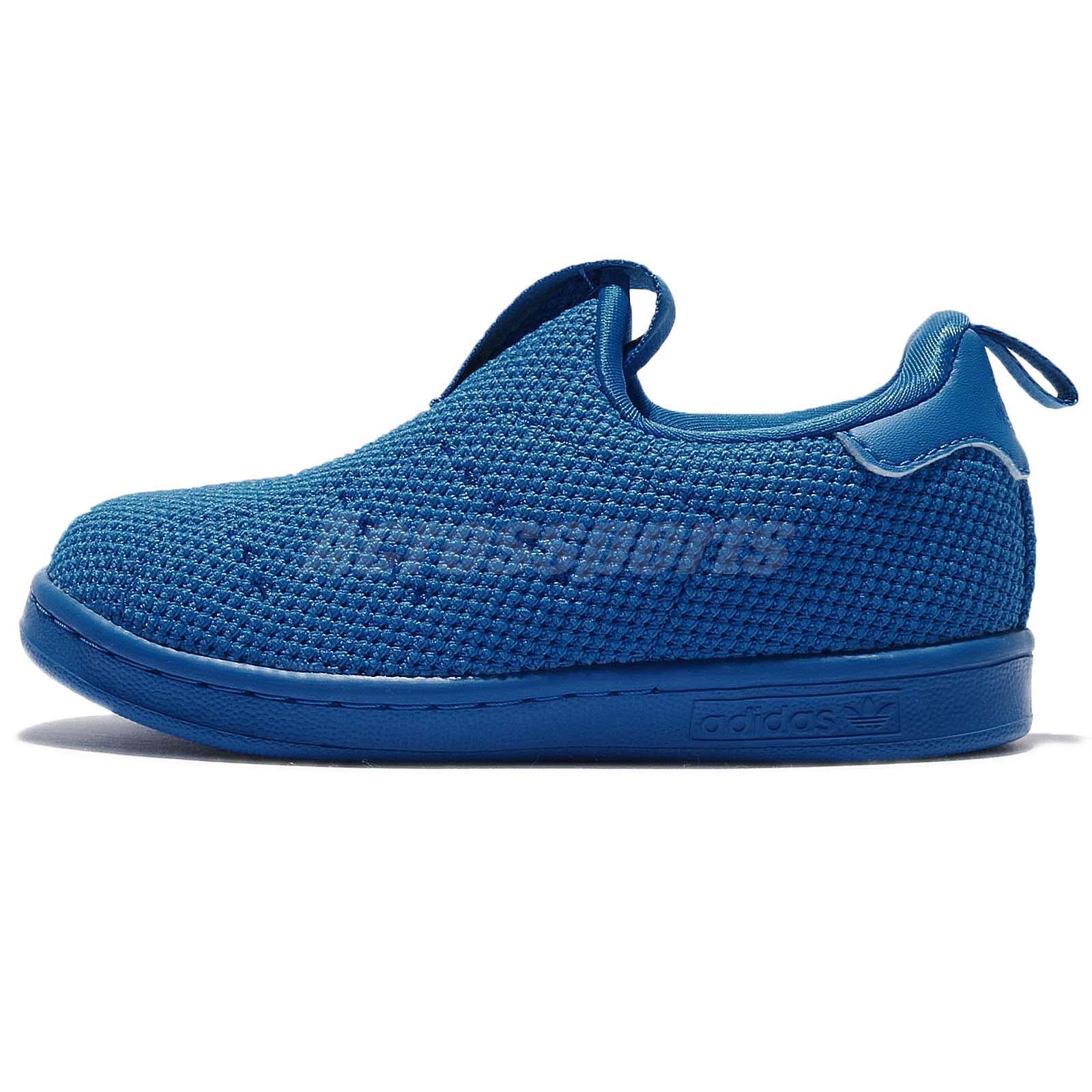 ... low priced d6f2e 4004a adidas Originals Stan Smith 360 SC I Supercolor  Shock Blue Infant Toddler ... 09b82bf6f623