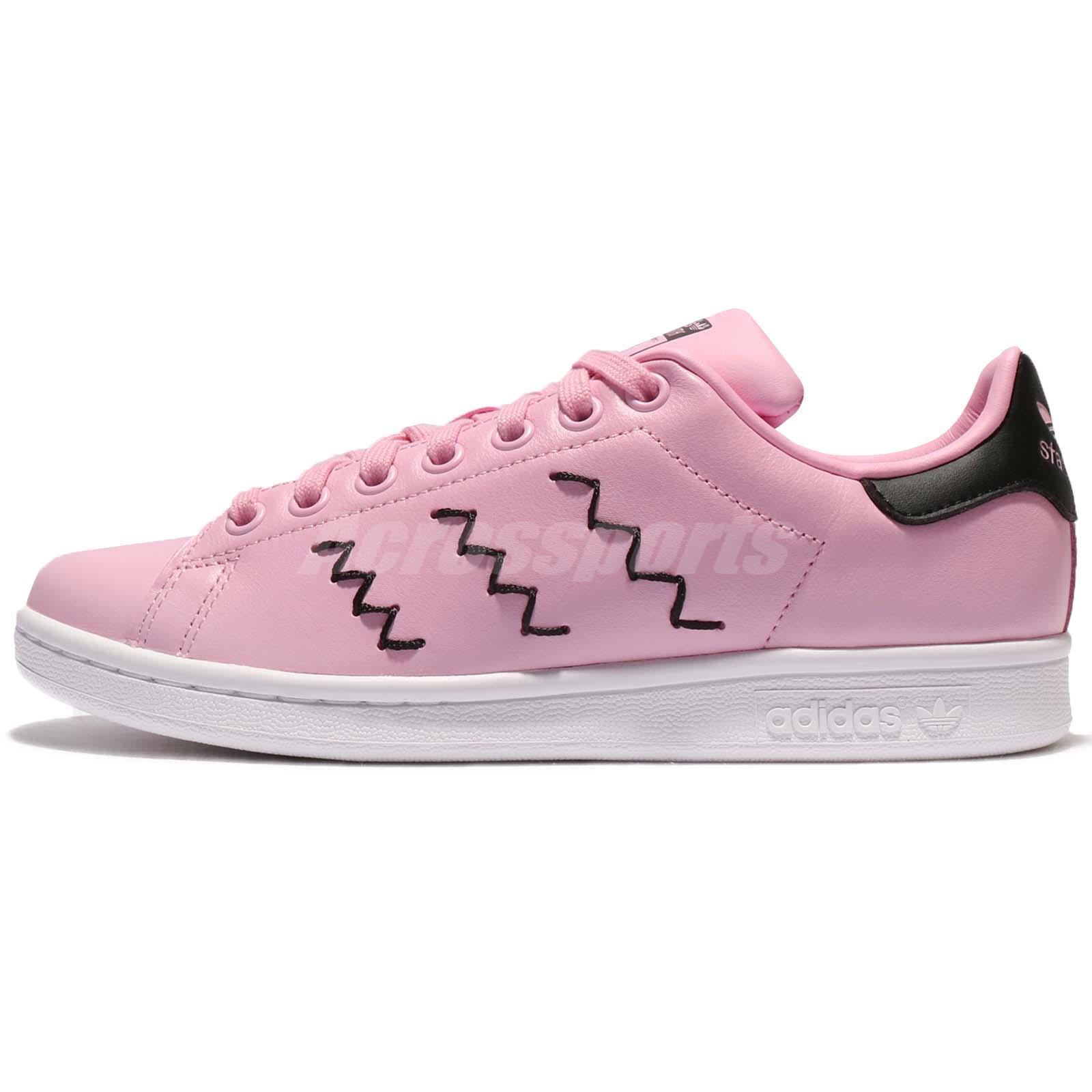 adidas stan smith pink black d083115512a9