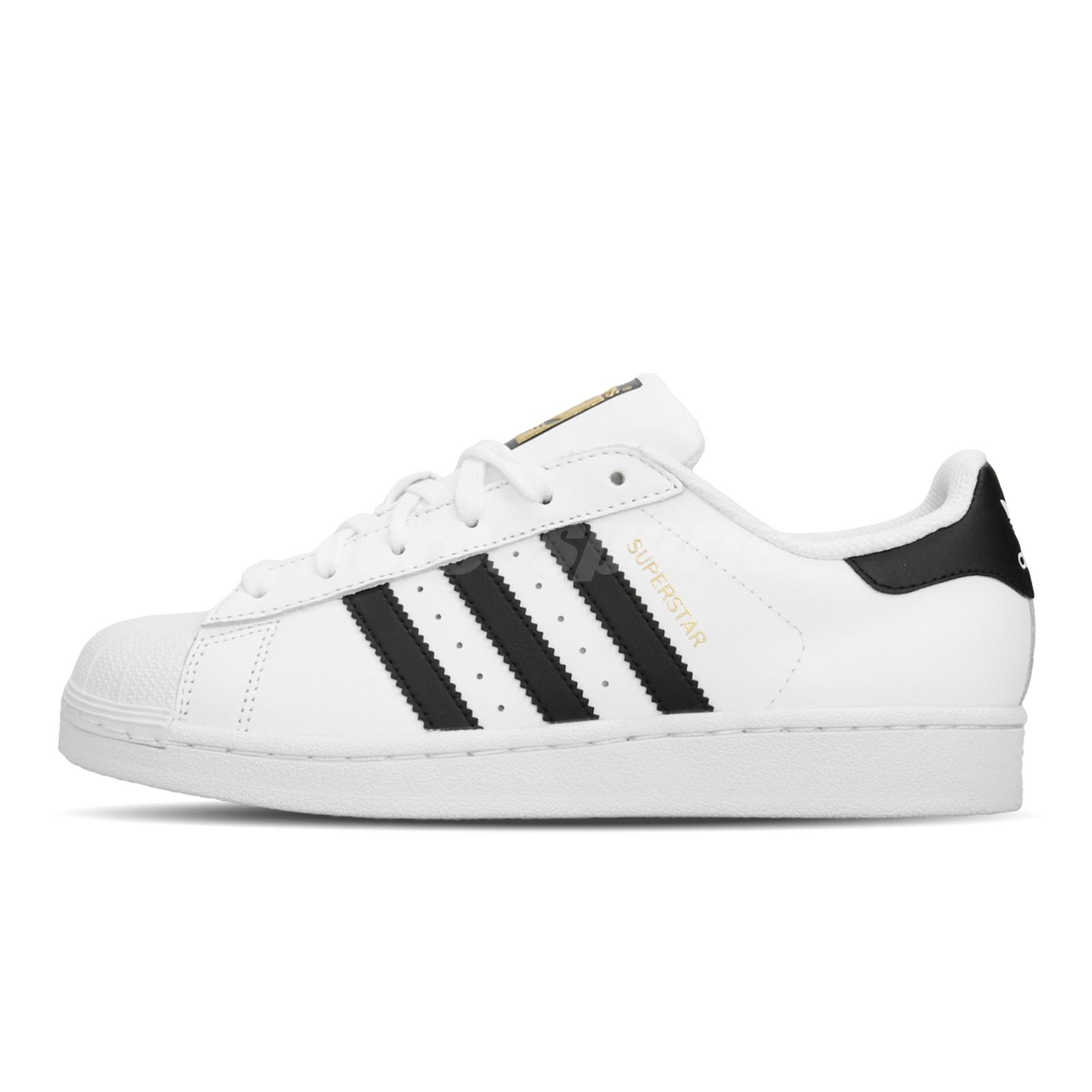 finest selection dcdb5 9467e adidas Originals Superstar White Black Gold Label Men Women Shoes Sneaker  C77124