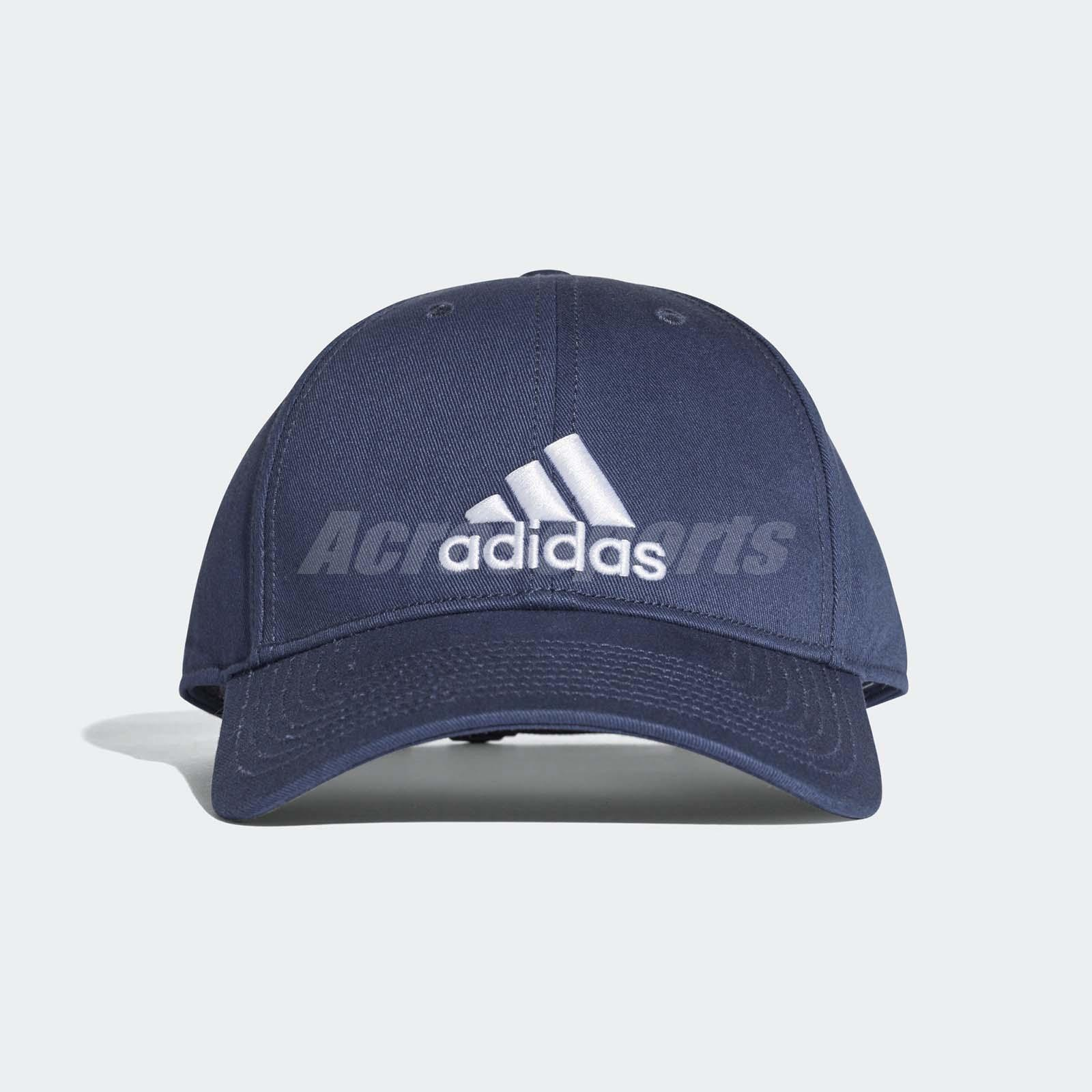 1f7439ba895 Details about adidas Unisex Classic 6-Panel Cap Running Sports Training Gym  Hat Blue CF6913