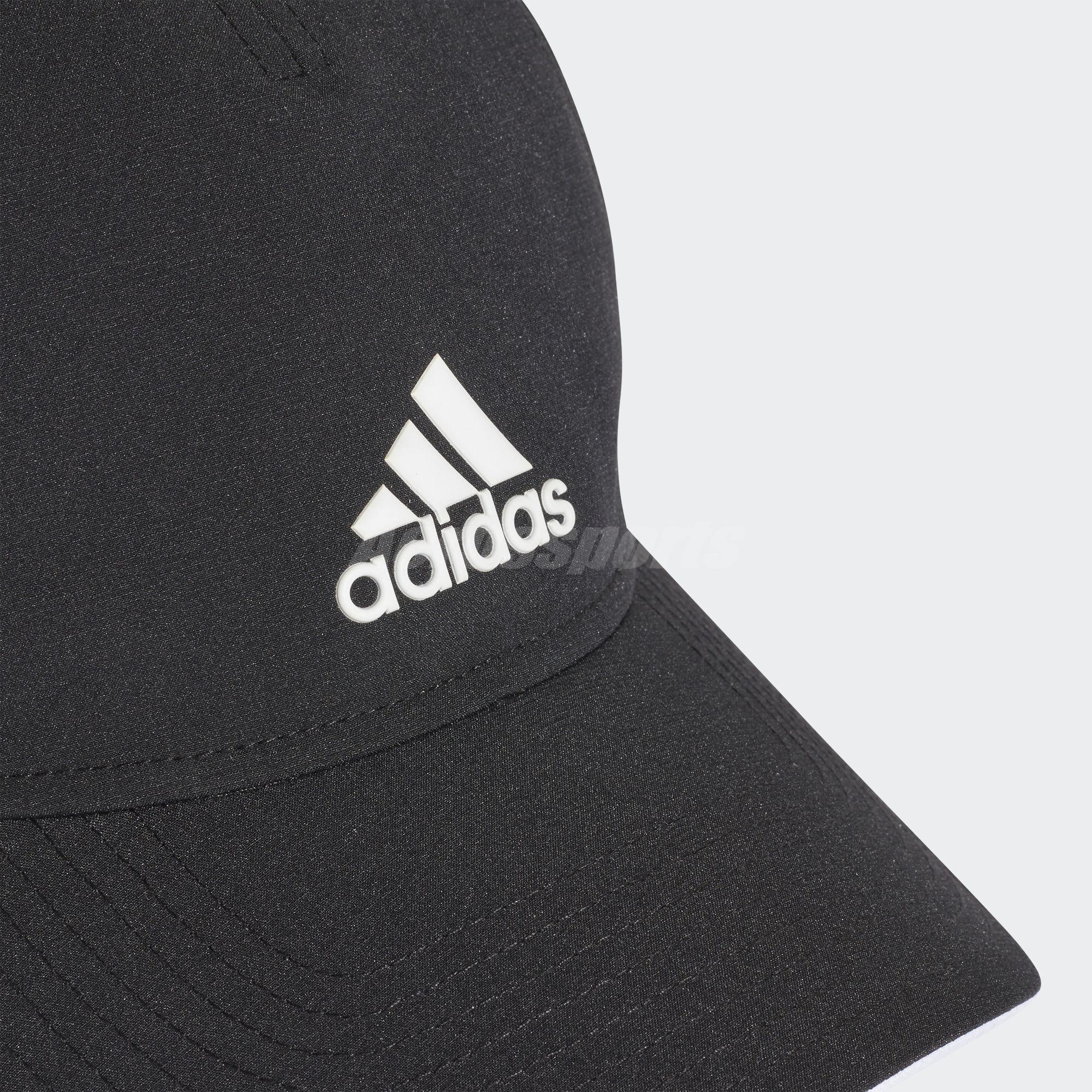 adidas Unisex C40 Climalite Cap Black White Baseball Hat Sport ... ee1922d0804a