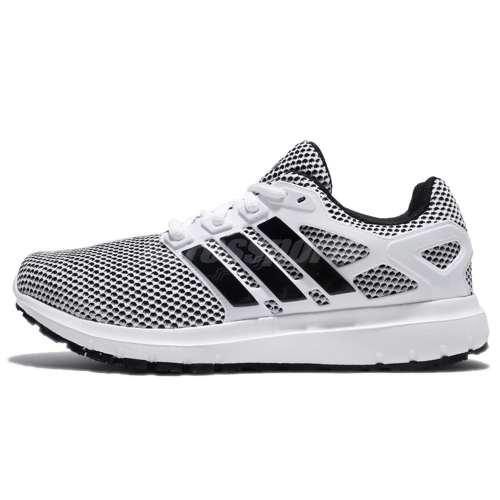new arrivals cc59f a316f adidas Energy Cloud M Cloudfoam White Black Men Running Shoes Sneakers  CG3007
