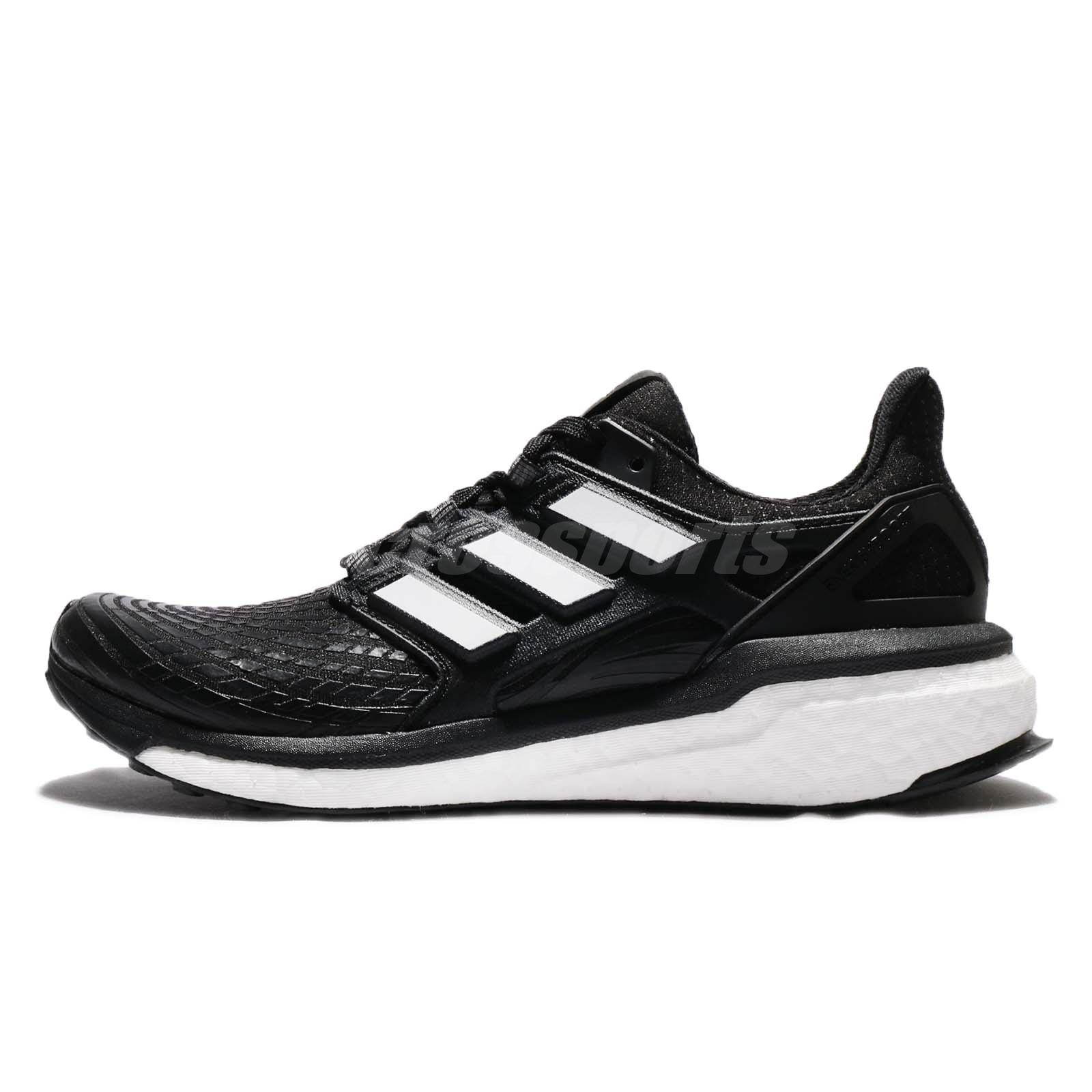 Adidas Energy Boost M Continental Black White Men Running Shoes