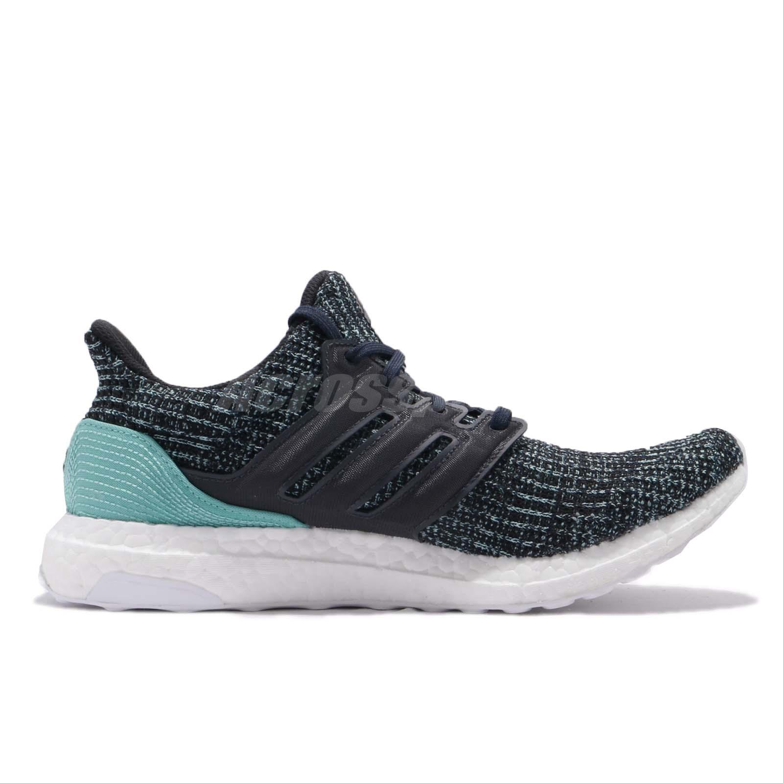 the best attitude 9a3e4 fc02d Details about adidas UltraBOOST PARLEY For The Oceans Green Grey Men Carbon  Running CG3673