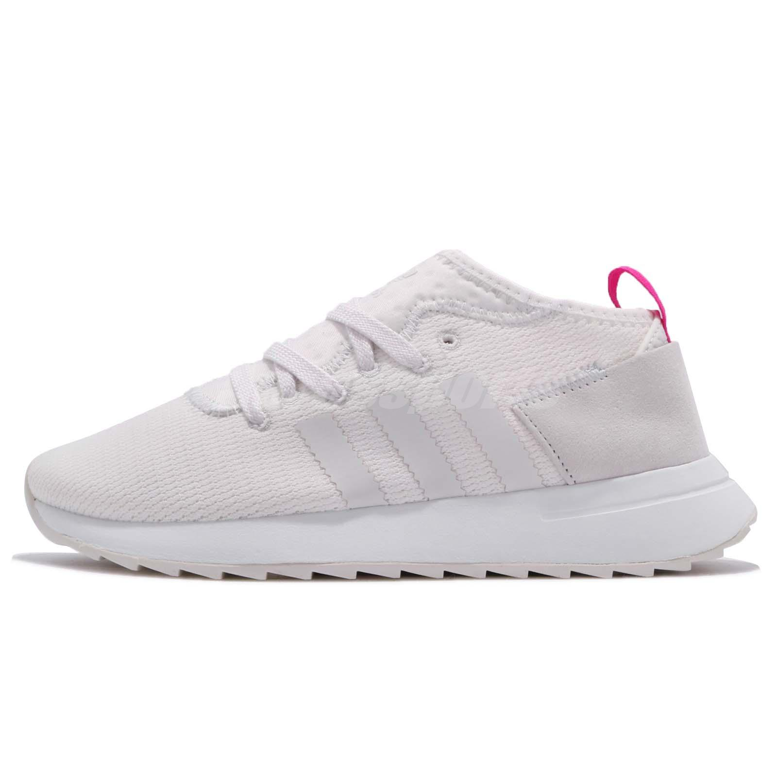 brand new 0ce29 bd06a adidas Originals FLB Mid Flashback White Pink Women Shoes Sneakers CG3772 -  mainstreetblytheville.org