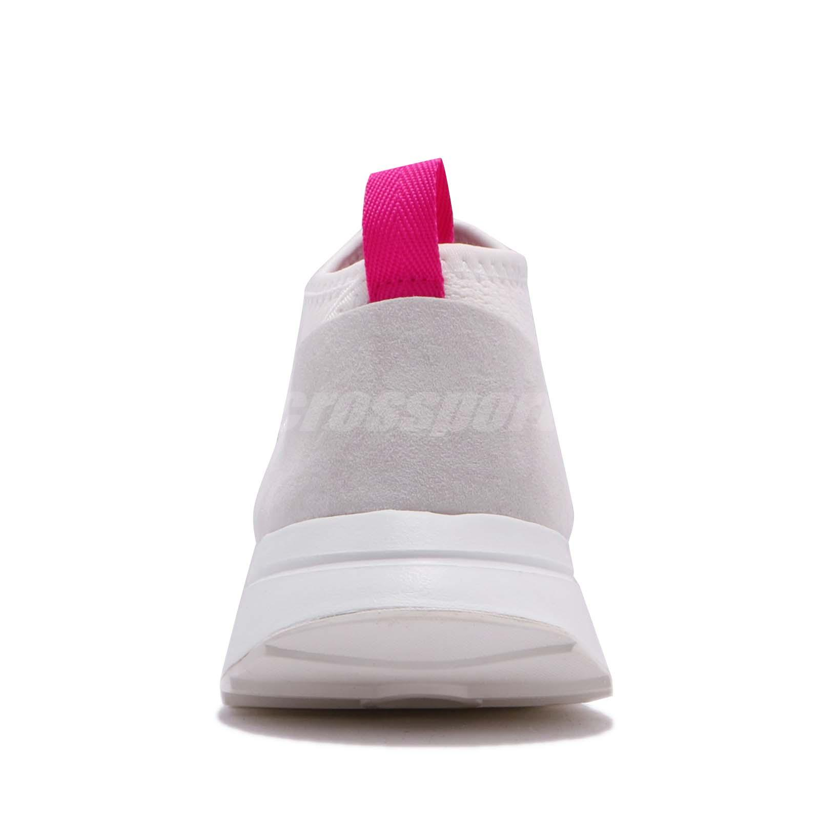 07c4c433e86613 adidas Originals FLB Mid Flashback White Pink Women Shoes Sneakers ...