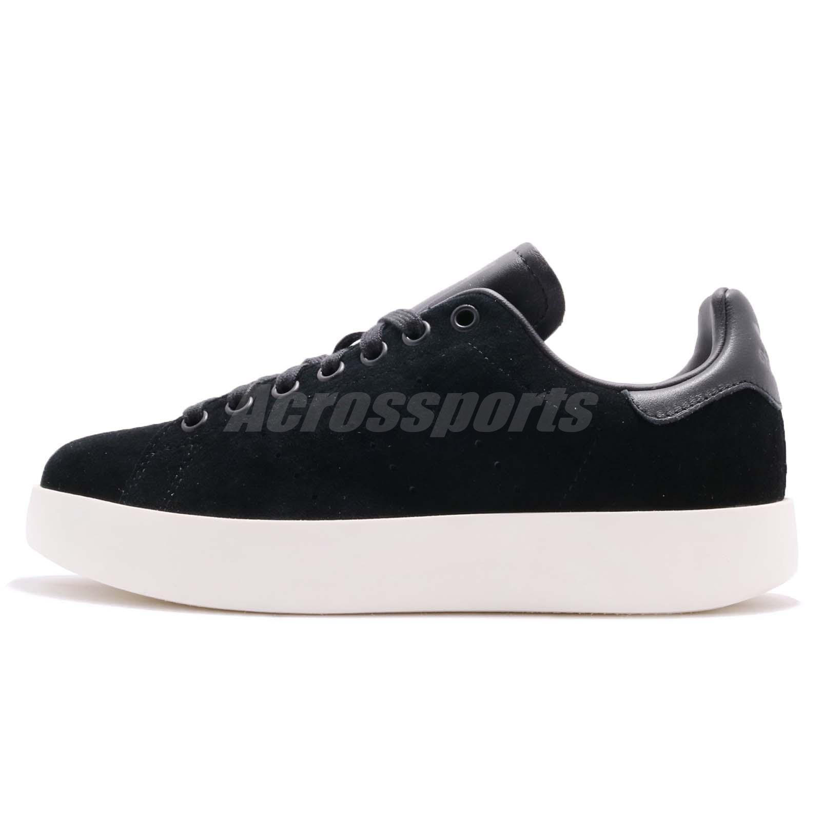 eac2700605e7 adidas Originals Stan Smith Bold W Platform Black White Women Casual Shoe  CG3775