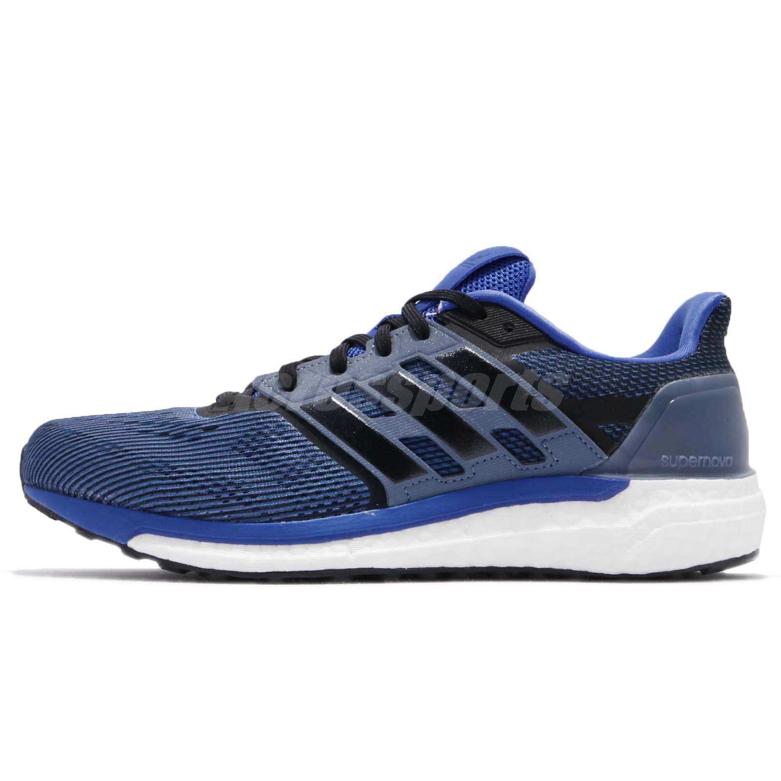 adidas Supernova M Hi-Res Blue Black Steel Men Running Shoes Sneakers CG4020 631f1b0c7