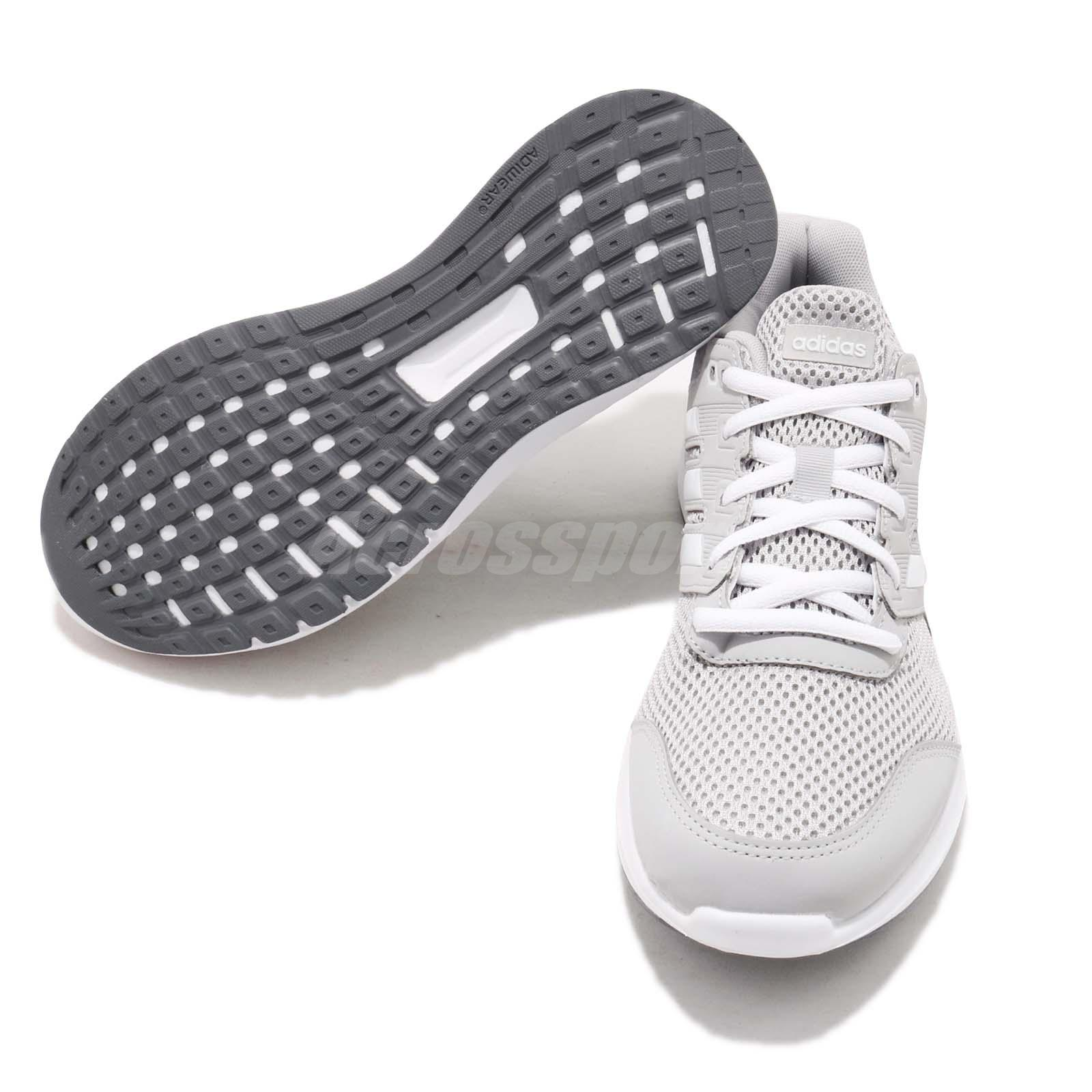 best loved f1c08 d0651 adidas Duramo Lite 2.0 Grey White Women Running Casual Shoes