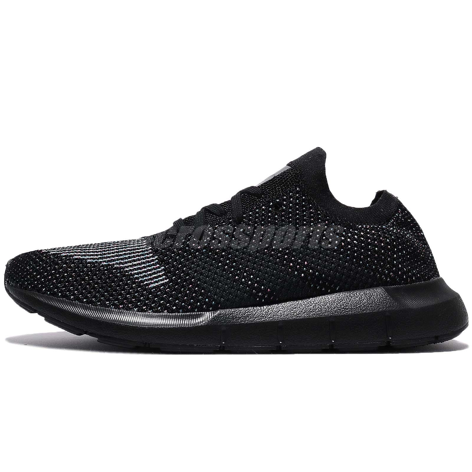 bfc14cbb9f0a adidas Originals Swift Run PK PrimeKnit Black Men Running Shoes Sneakers  CG4127