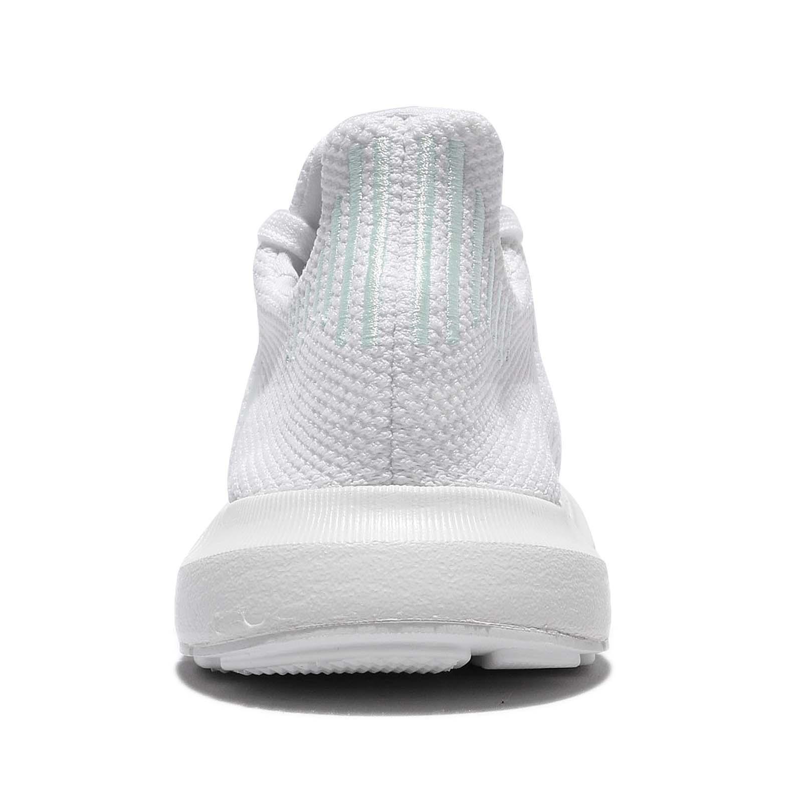 adidas originali swift run w le donne scarpe bianco verde