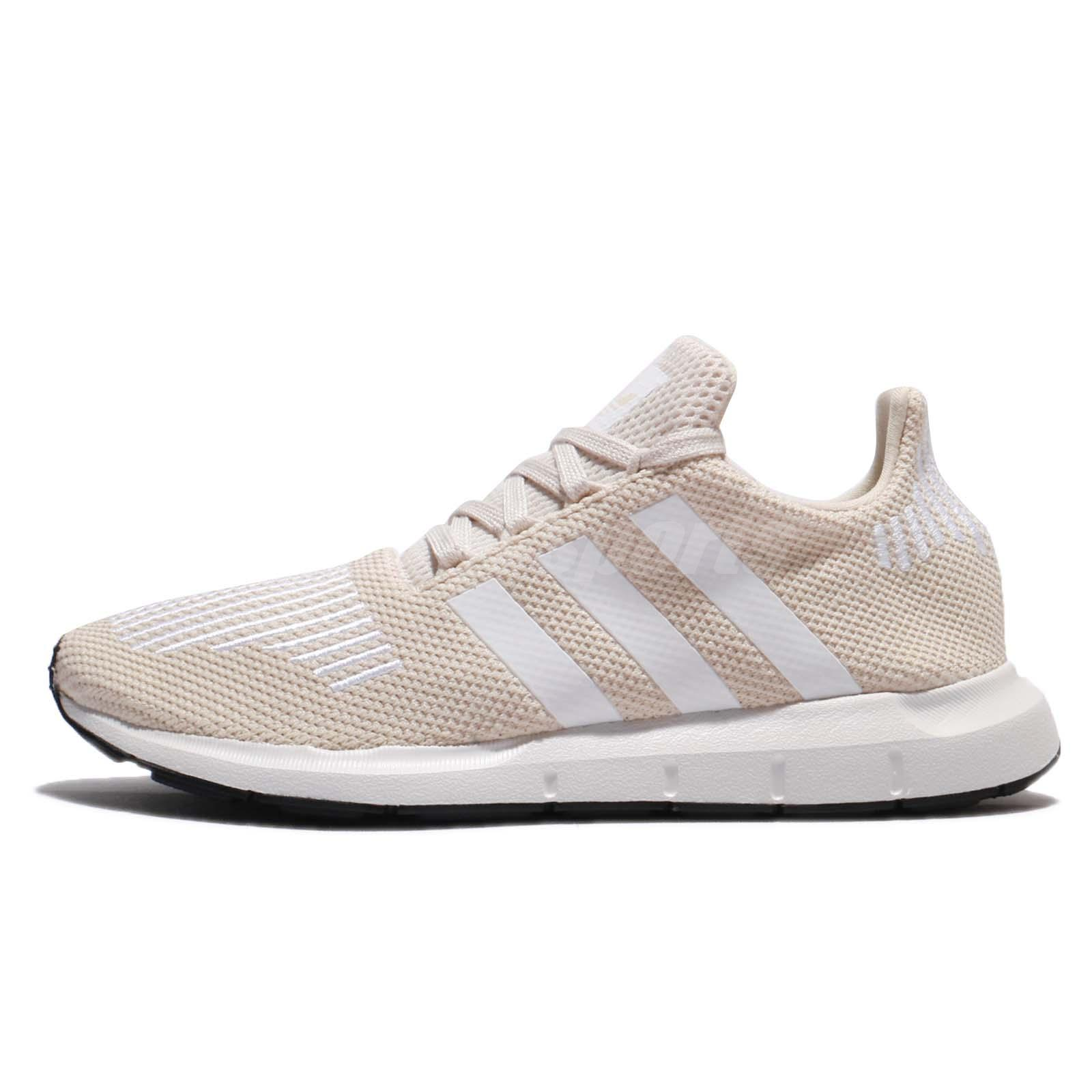 adidas Originals Swift Run W Beige White Women Running Shoes Sneakers CG4141