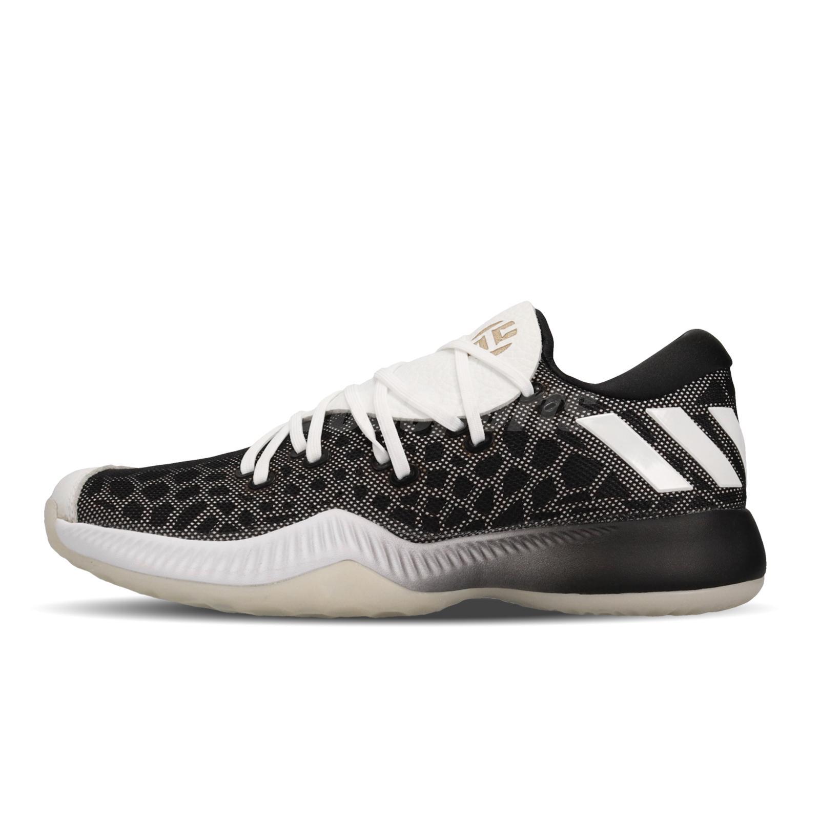 7b58375f16fe adidas Harden B E Bounce Black White James 13 Men Basketball Shoe Sneaker  CG4196