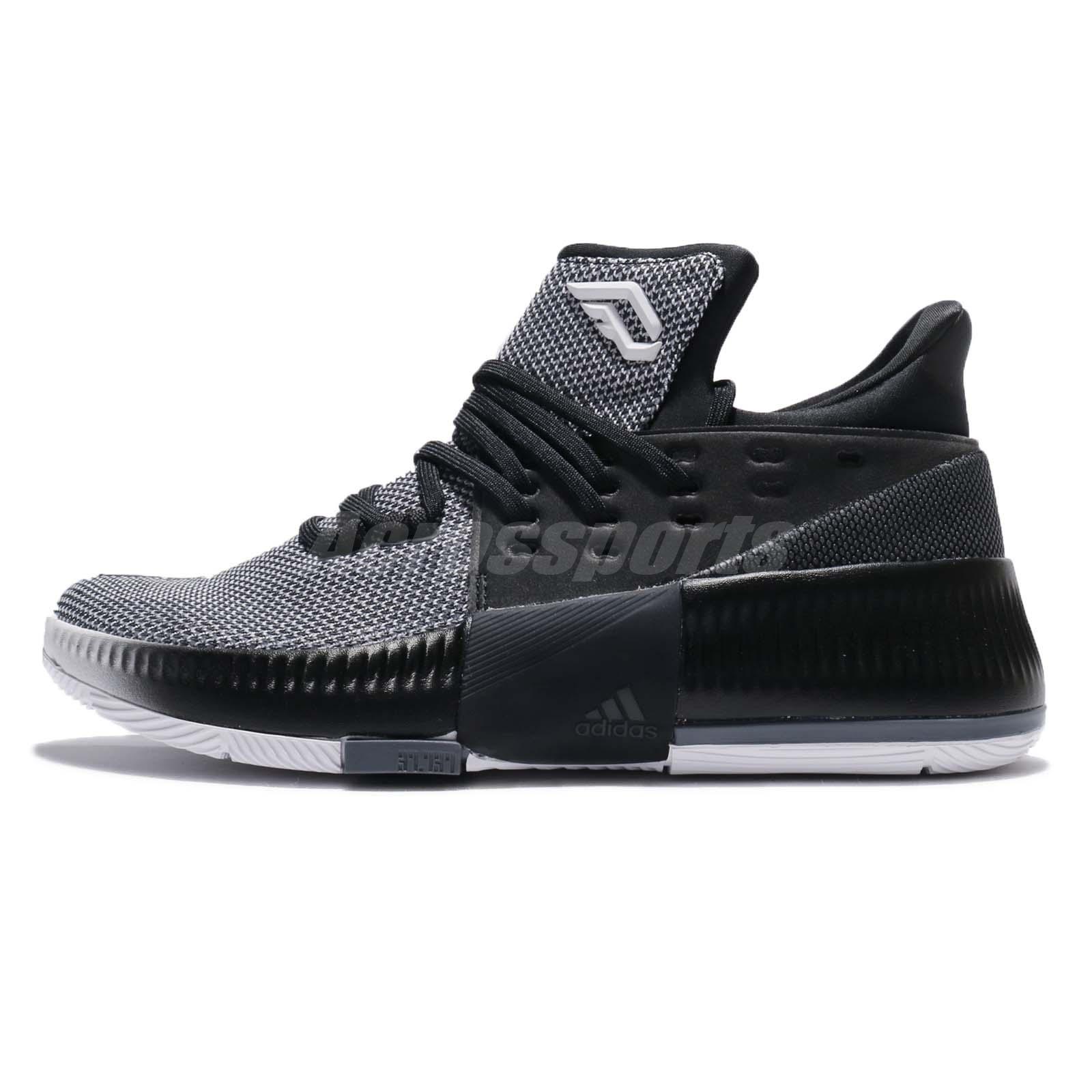 on sale cf7cd 58c0c ... amazon adidas dame 3 j damian lillard black white kids boys basketball  shoes cg4228 cd3f5 68531