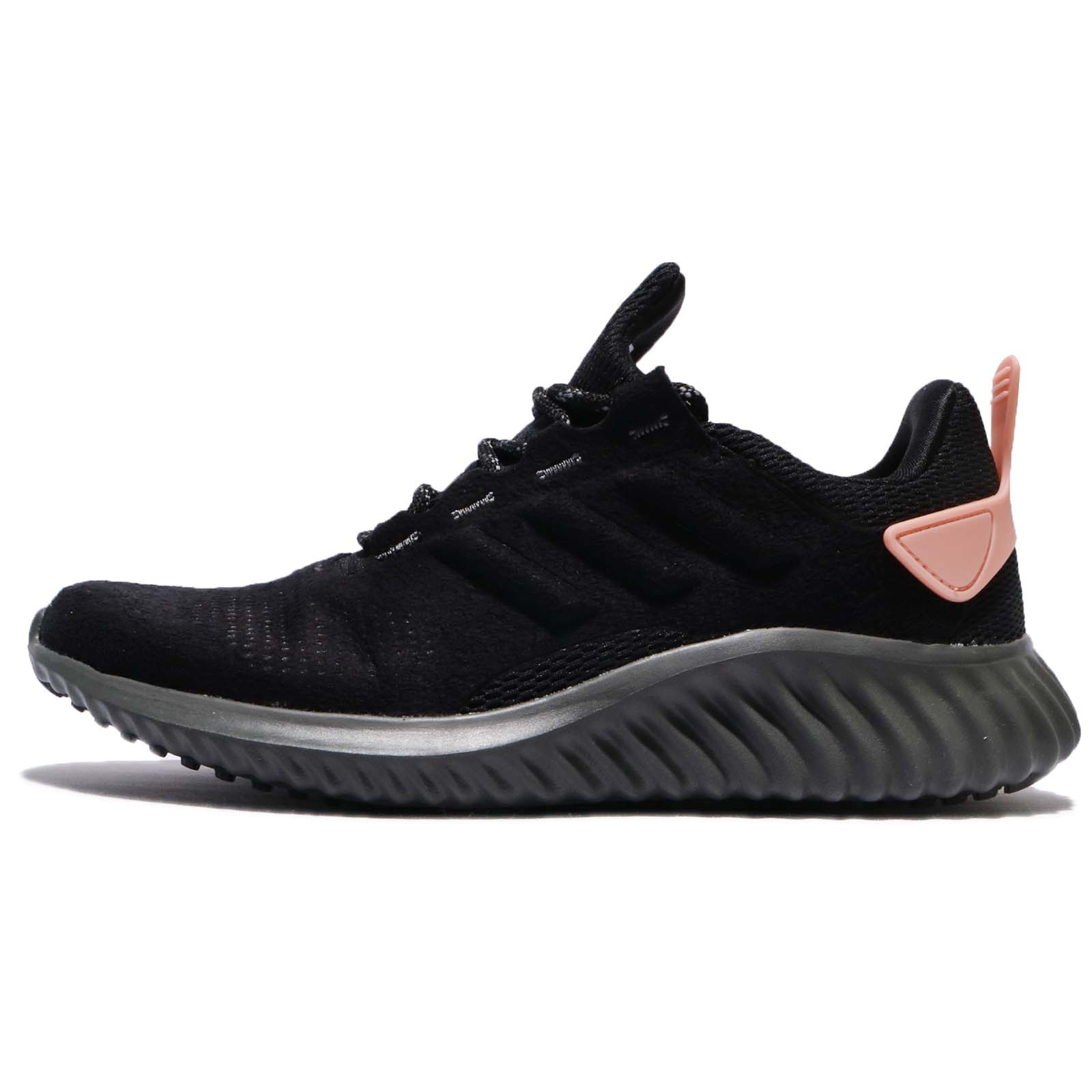 adidas Alphabounce CR W Suede Black Women Running Shoes Sneakers Trainer CG4672