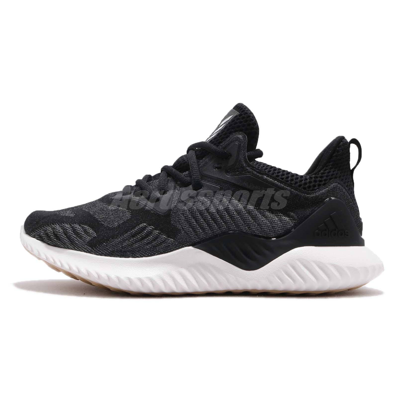 uk availability 904b1 9fce6 adidas Alphabounce Beyond W Black White Women Running Shoes Sneakers CG5581