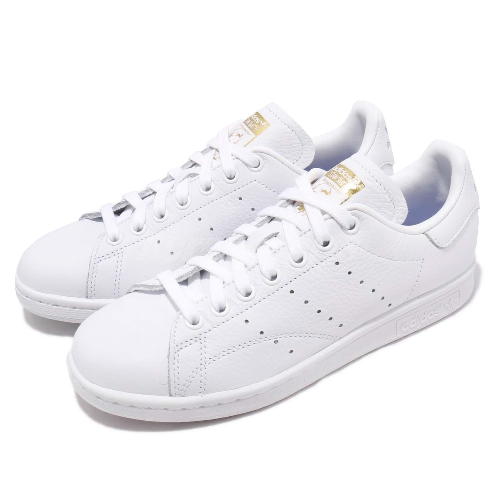the latest dfa56 06a84 Details about adidas Originals Stan Smith W White Real Lilac Gold Women Casual  Shoes CG6014
