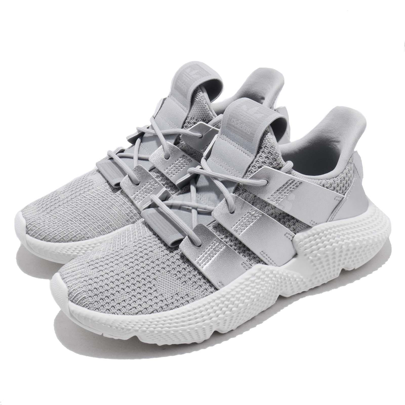 e93e666a311 Details about adidas Originals Prophere W Grey Silver White Women Running  Shoes Sneaker CG6069