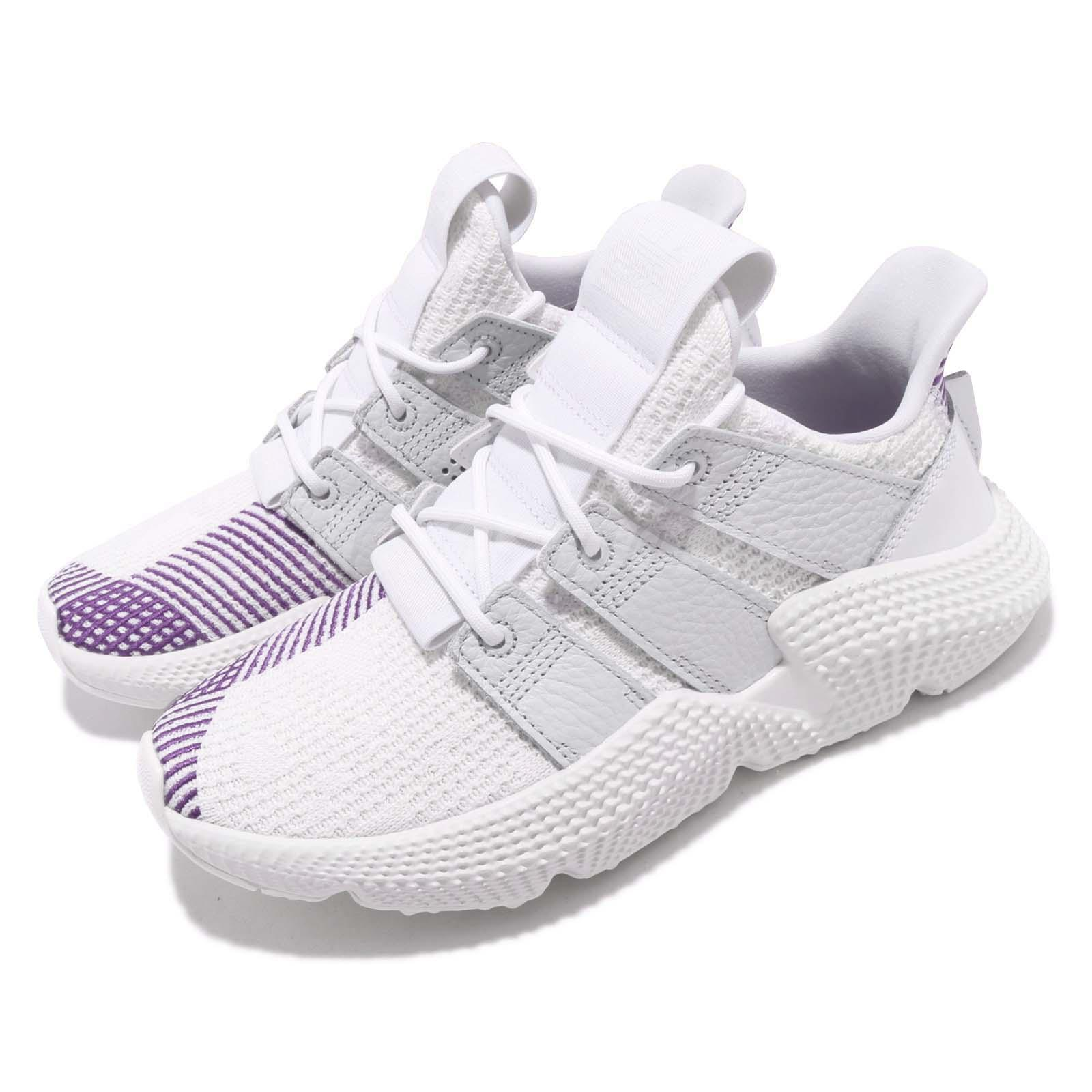 Details about adidas Originals Prophere W White Purple Women Running Shoes  Sneakers CG6260