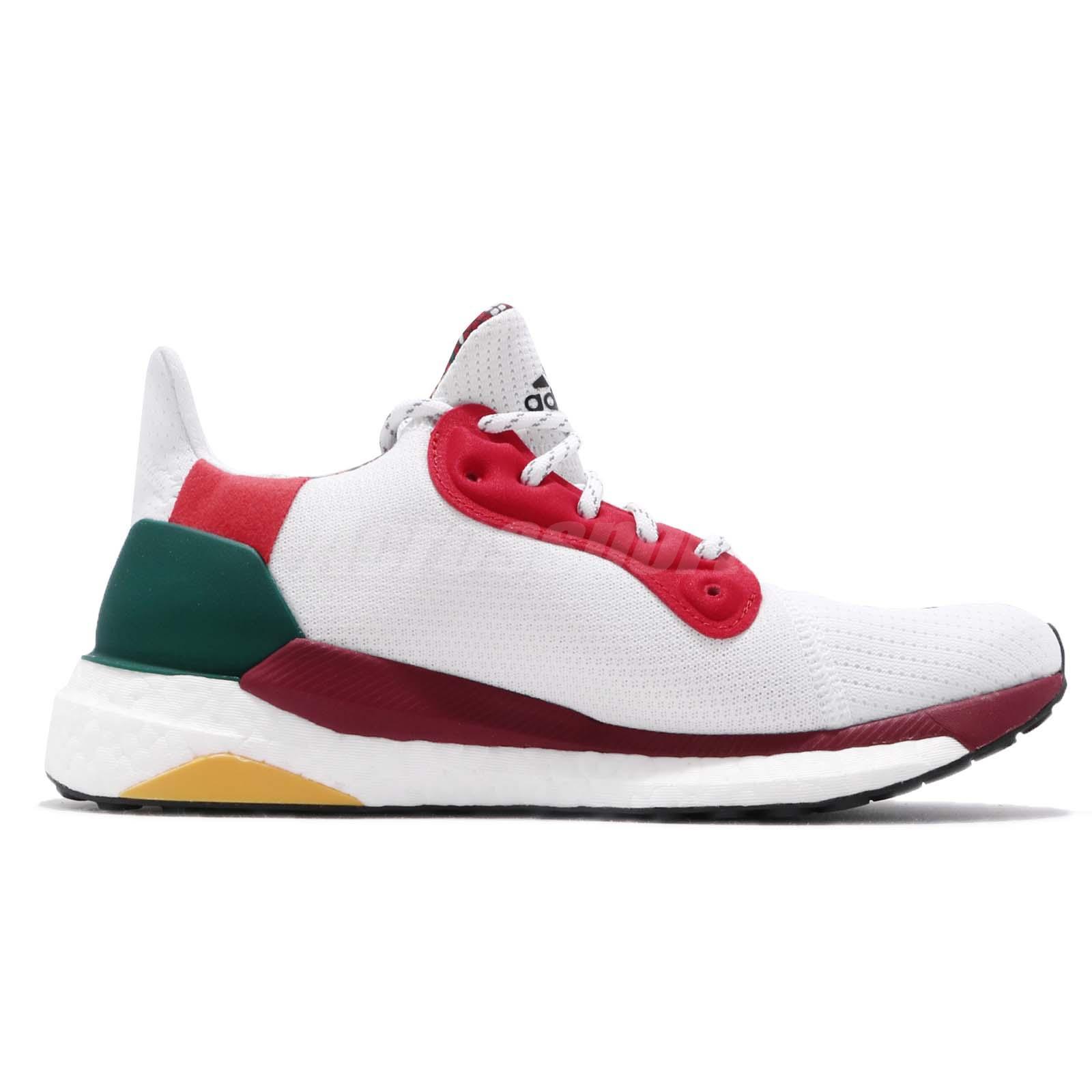 f9c8f6d8f adidas Solar Hu Glide W Pharrell Williams White Black Red Green ...