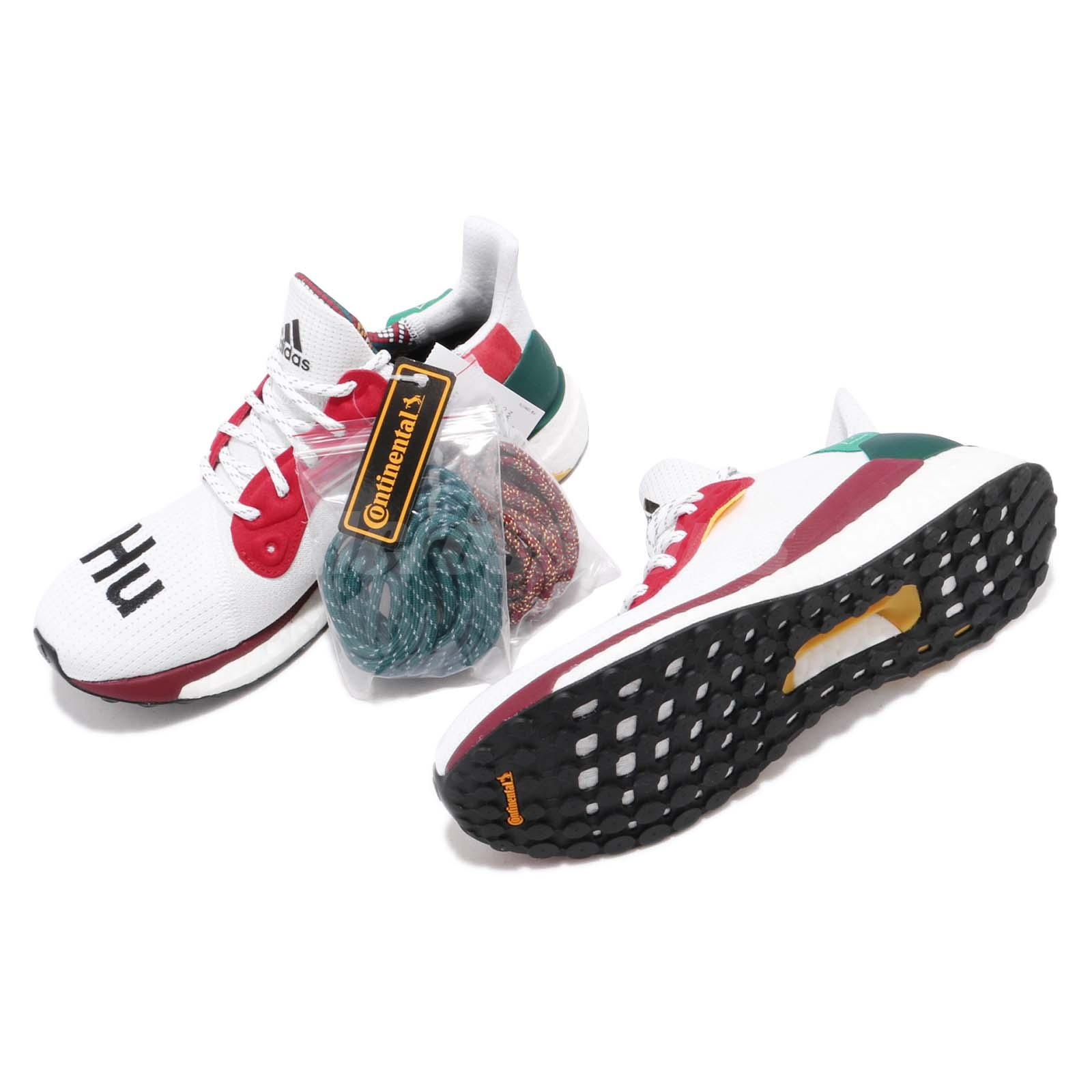 d4a3cad04 adidas Solar Hu Glide W Pharrell Williams White Black Red Green ...