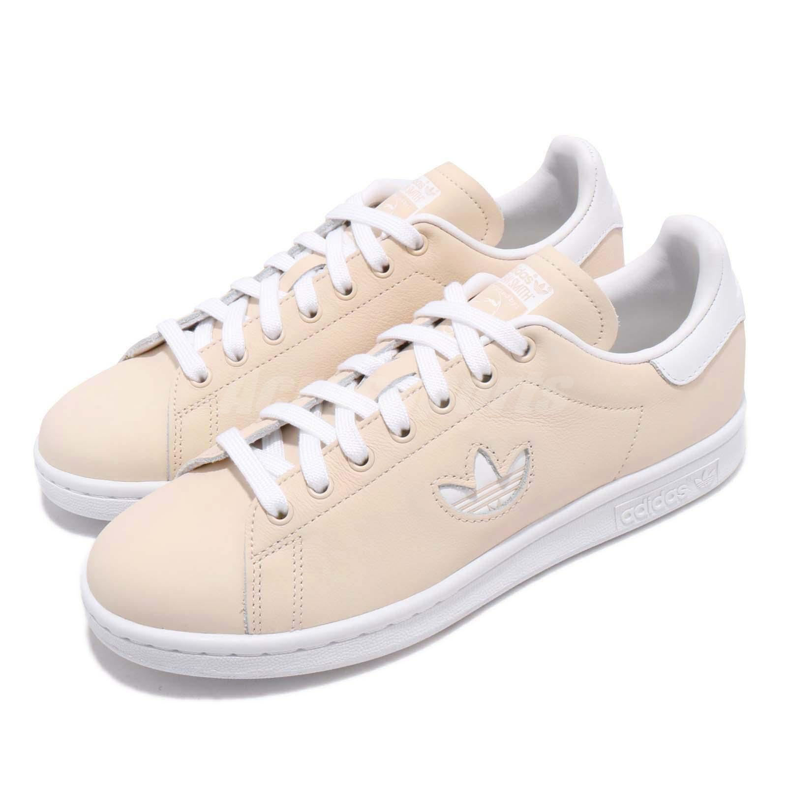 f33169560dd Details about adidas Originals Stan Smith W Beige White Women Casual  Lifestyle Shoes CG6794