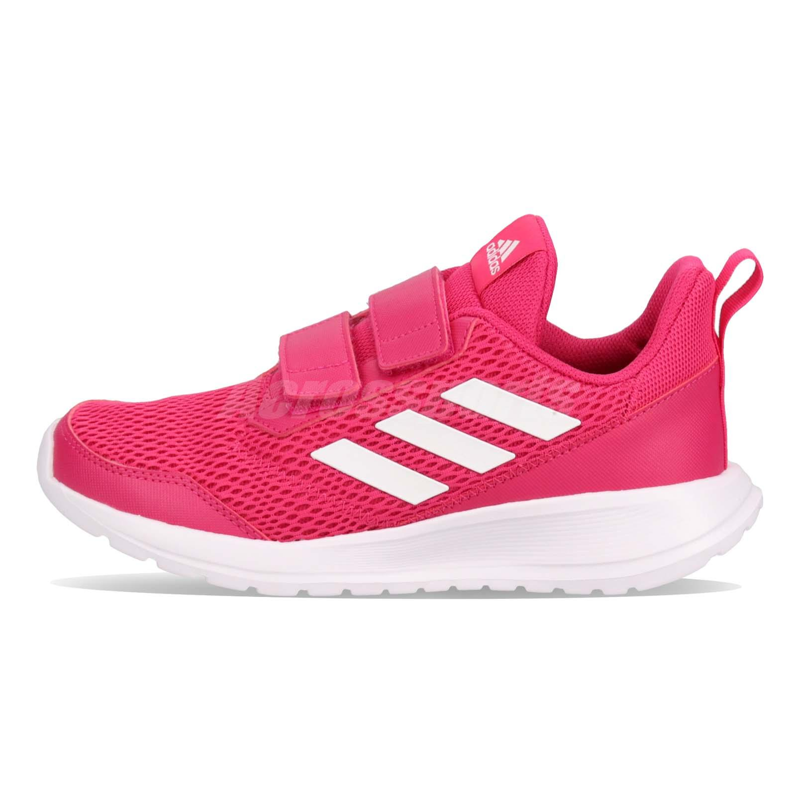 new arrival 28ff2 a5cb2 adidas AltaRun CF K Real Magenta White Kid Junior Preschool Shoes Sneaker  CG6895